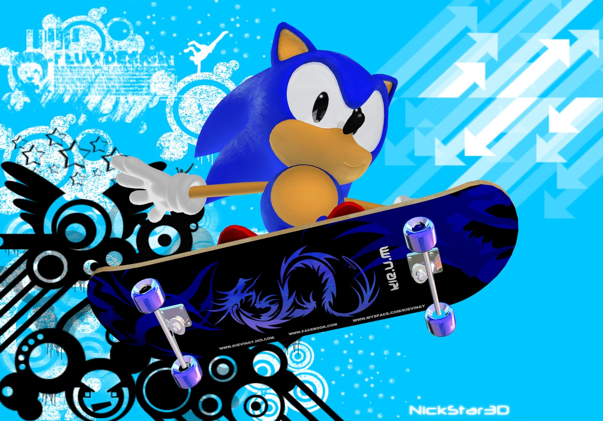 stay cool with Sonic and Shadow images classic skating HD wallpaper and  background photos