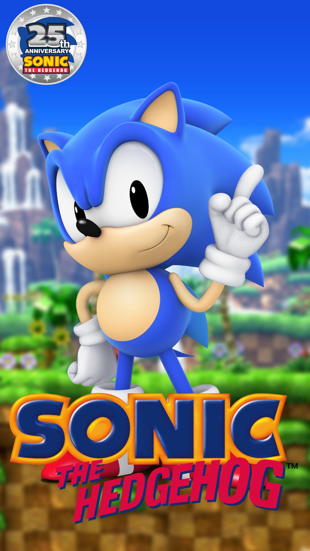 Sonic Phone Wallpaper