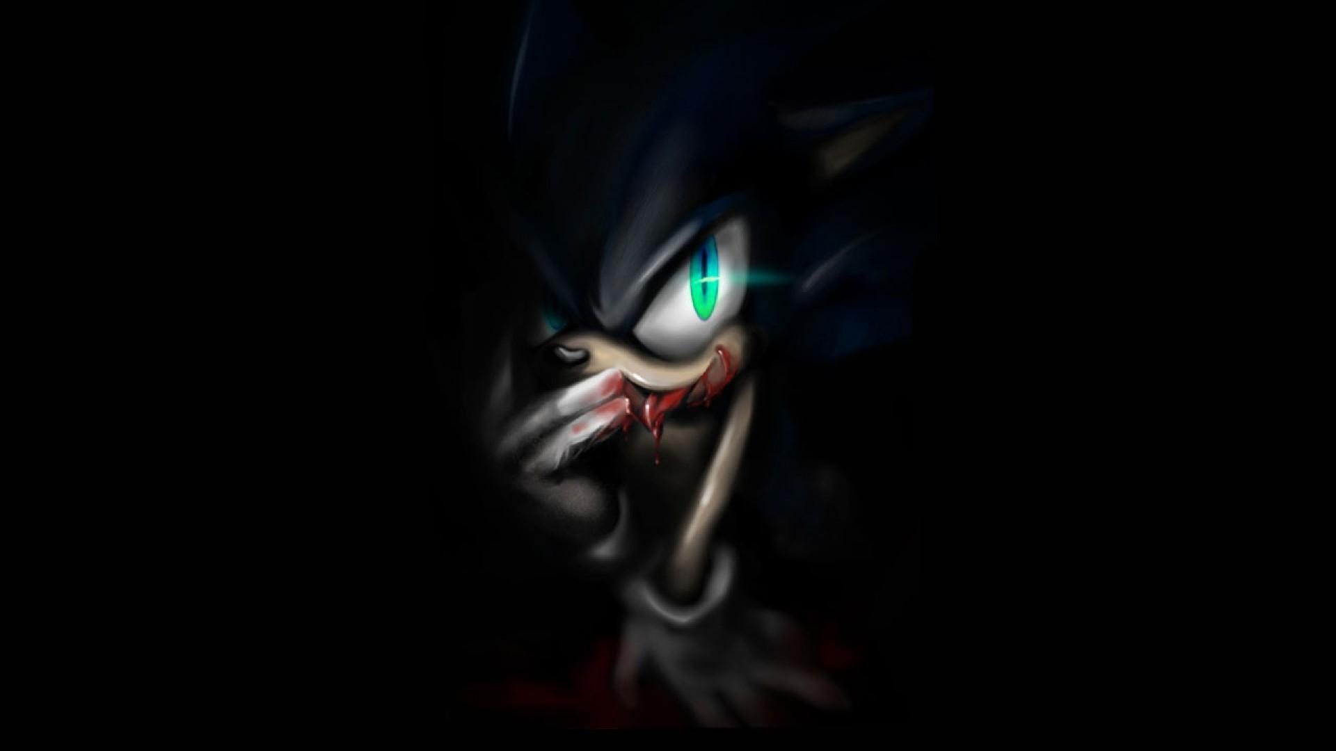 Dark Sonic wallpaper