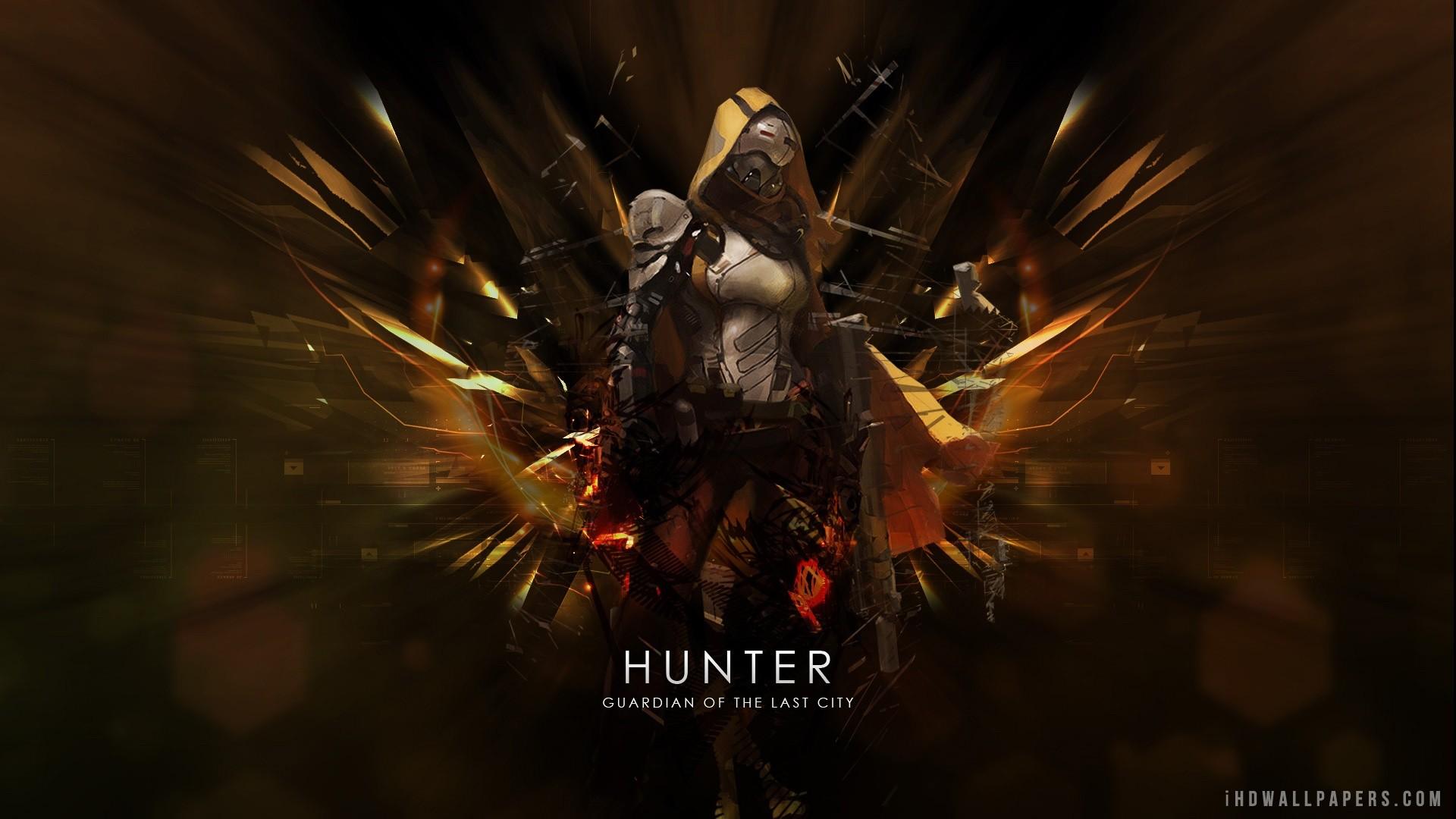 Destiny Hunter HD Wallpaper – iHD Wallpapers