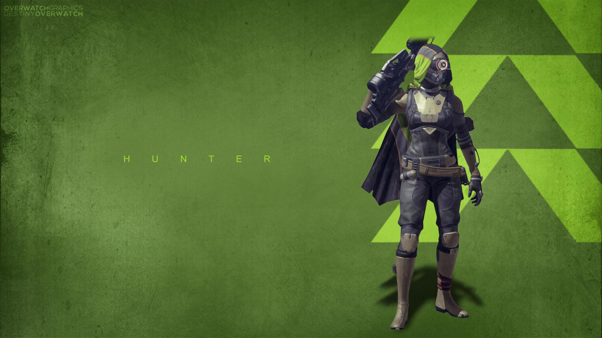 Destiny – Hunter Wallpaper by OverwatchGraphics Destiny – Hunter Wallpaper  by OverwatchGraphics