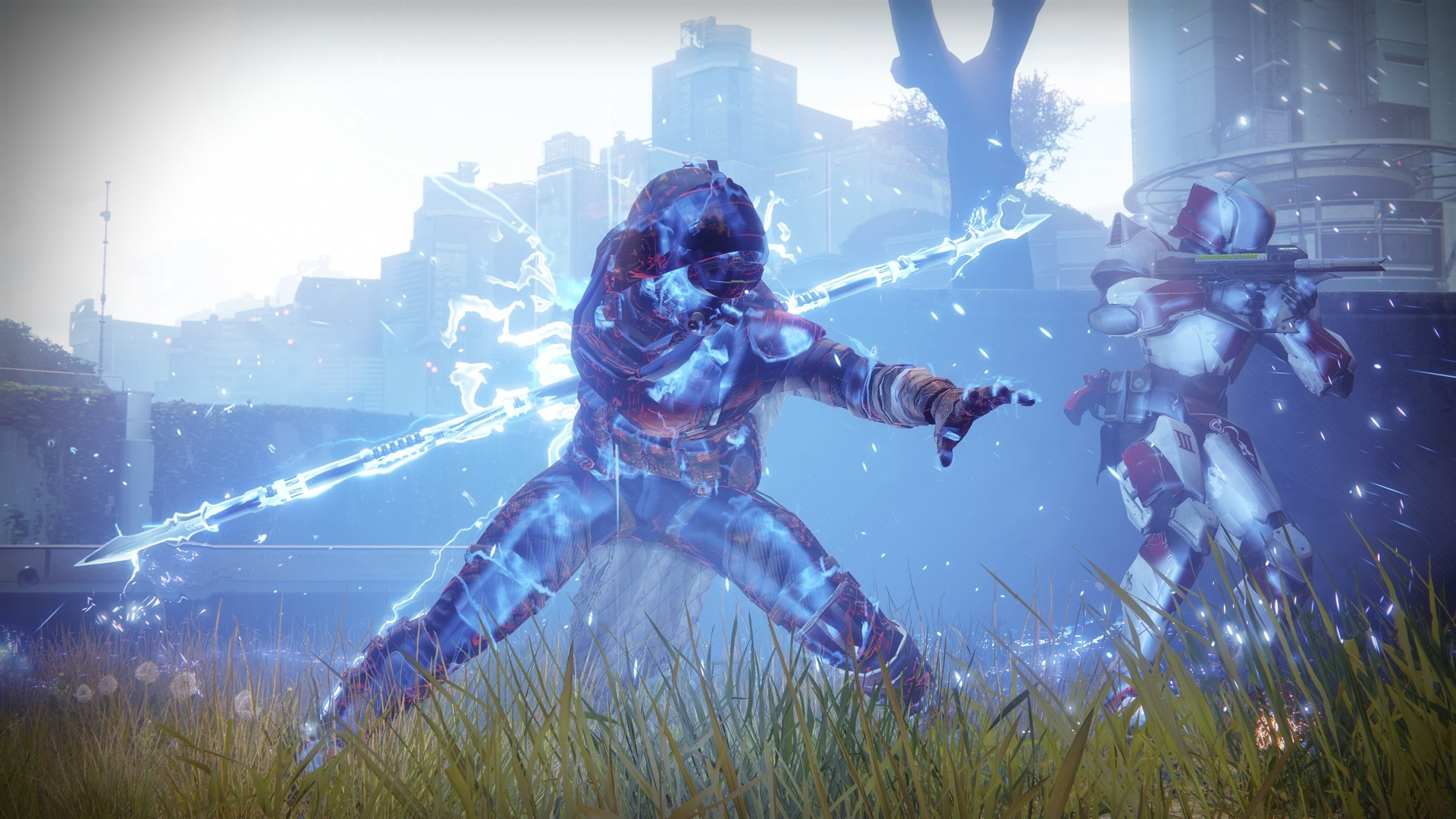 Nice Destiny 2 Arcstrider Hunter Guardian wallpaper