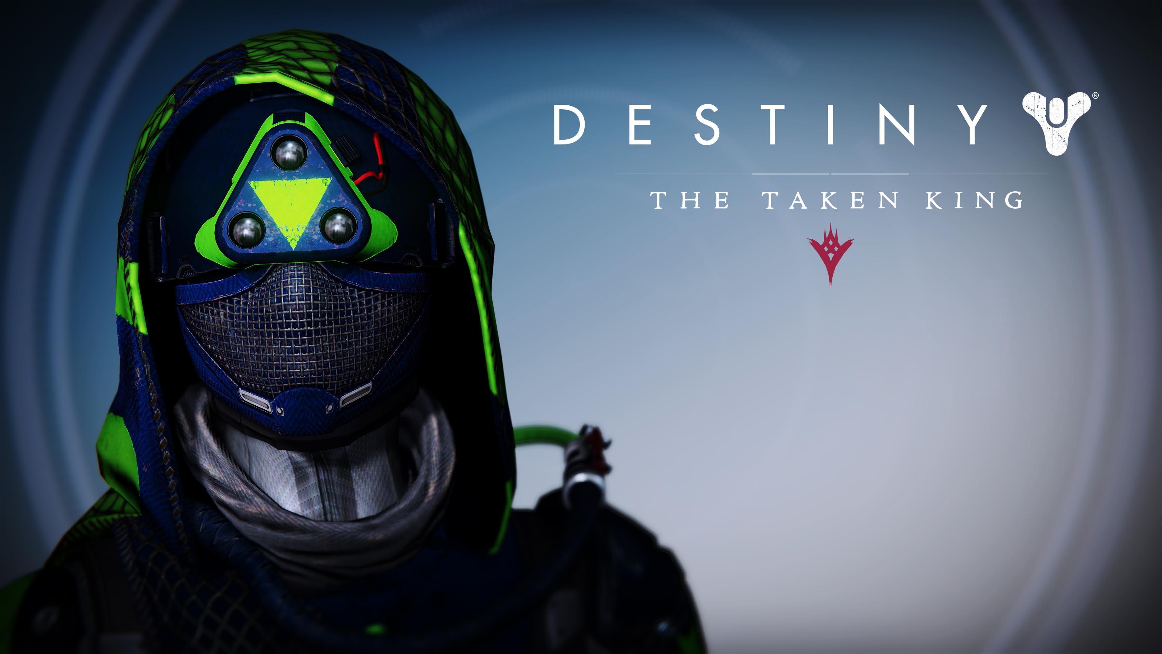 Destiny Hunter Female Helmet – Destiny The Taken King wallpaper