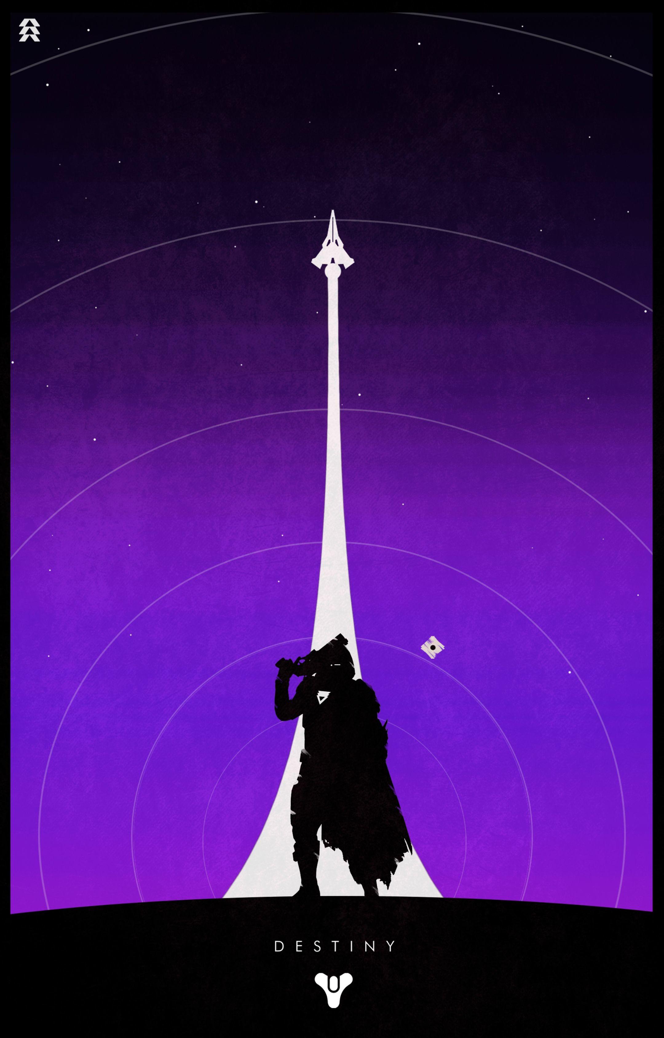 Gunslinger Hunter (Purple Background)