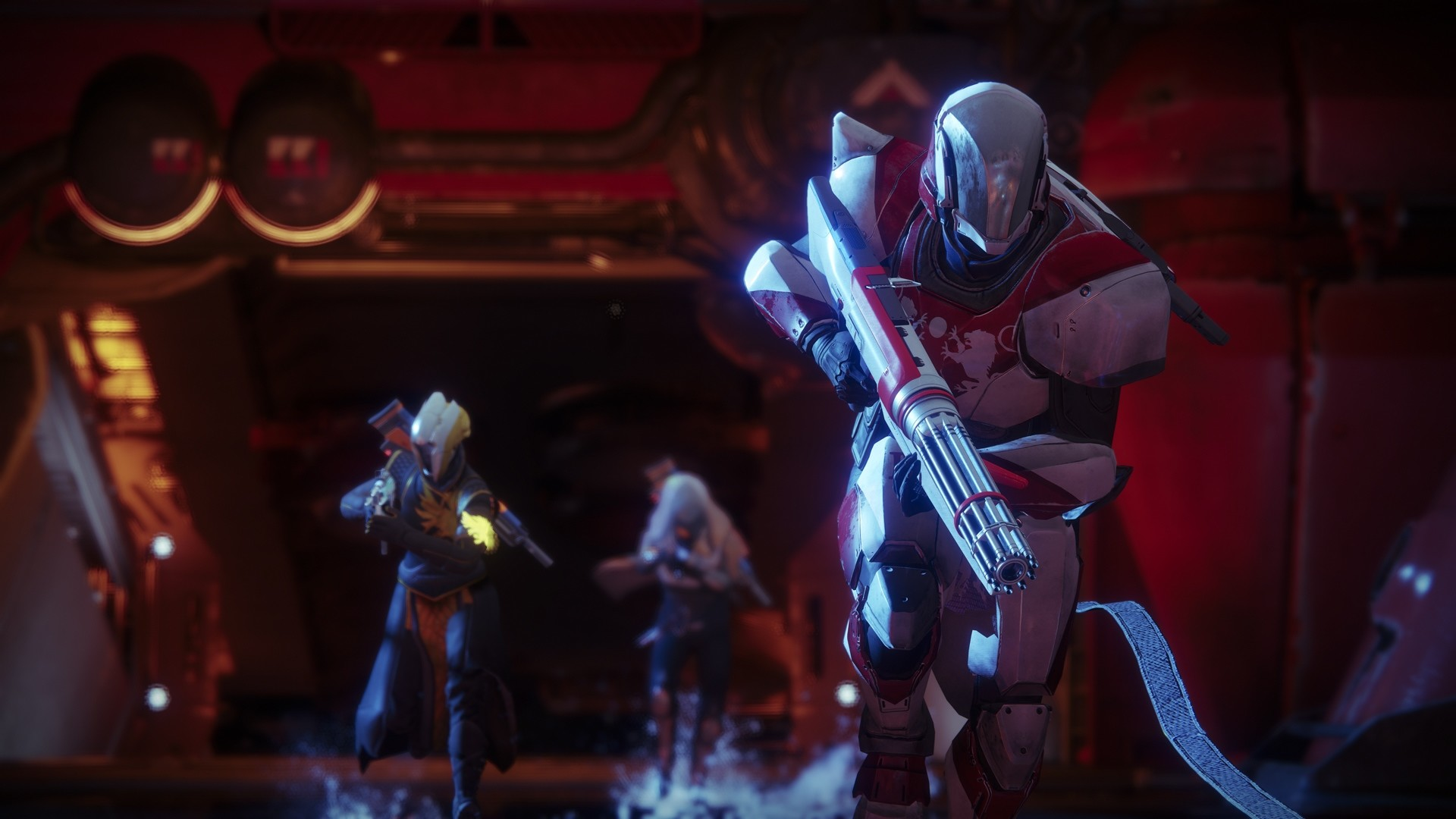 Cool Destiny 2 Guardians Titan Warlock and Hunter wallpaper