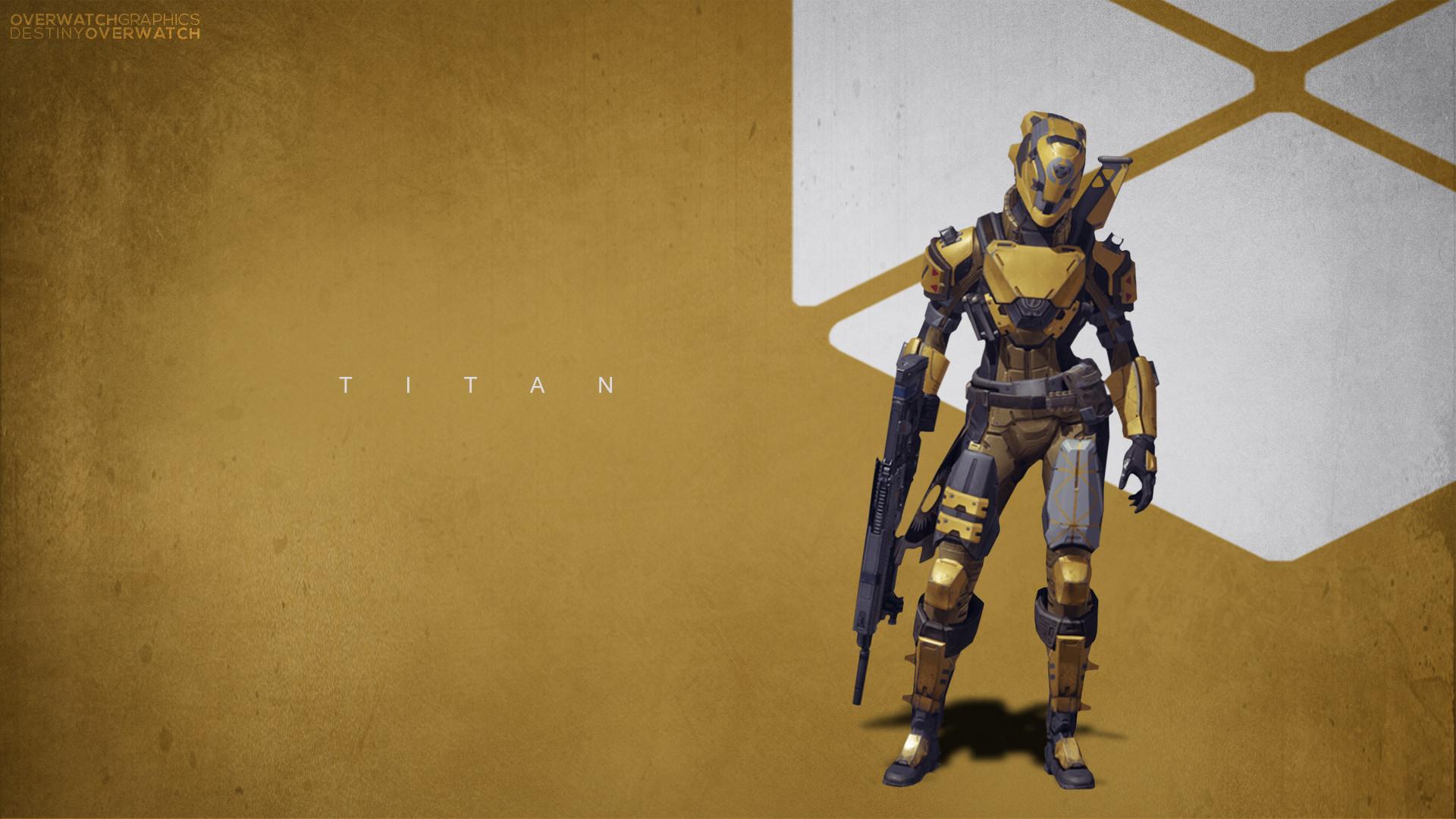 Destiny – Titan Wallpaper by OverwatchGraphics Destiny – Titan Wallpaper by  OverwatchGraphics