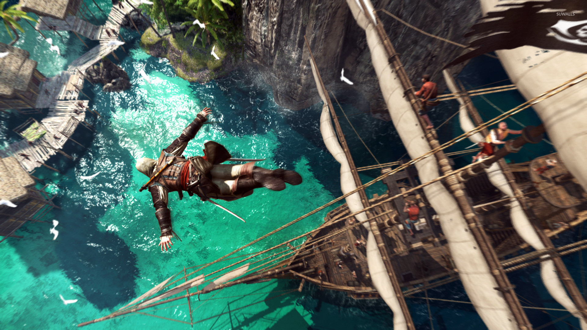 Assassins Creed IV Black Flag HD desktop wallpaper Widescreen | Wallpapers  4k | Pinterest | Assassins creed black flag, Assassins creed and Wallpaper