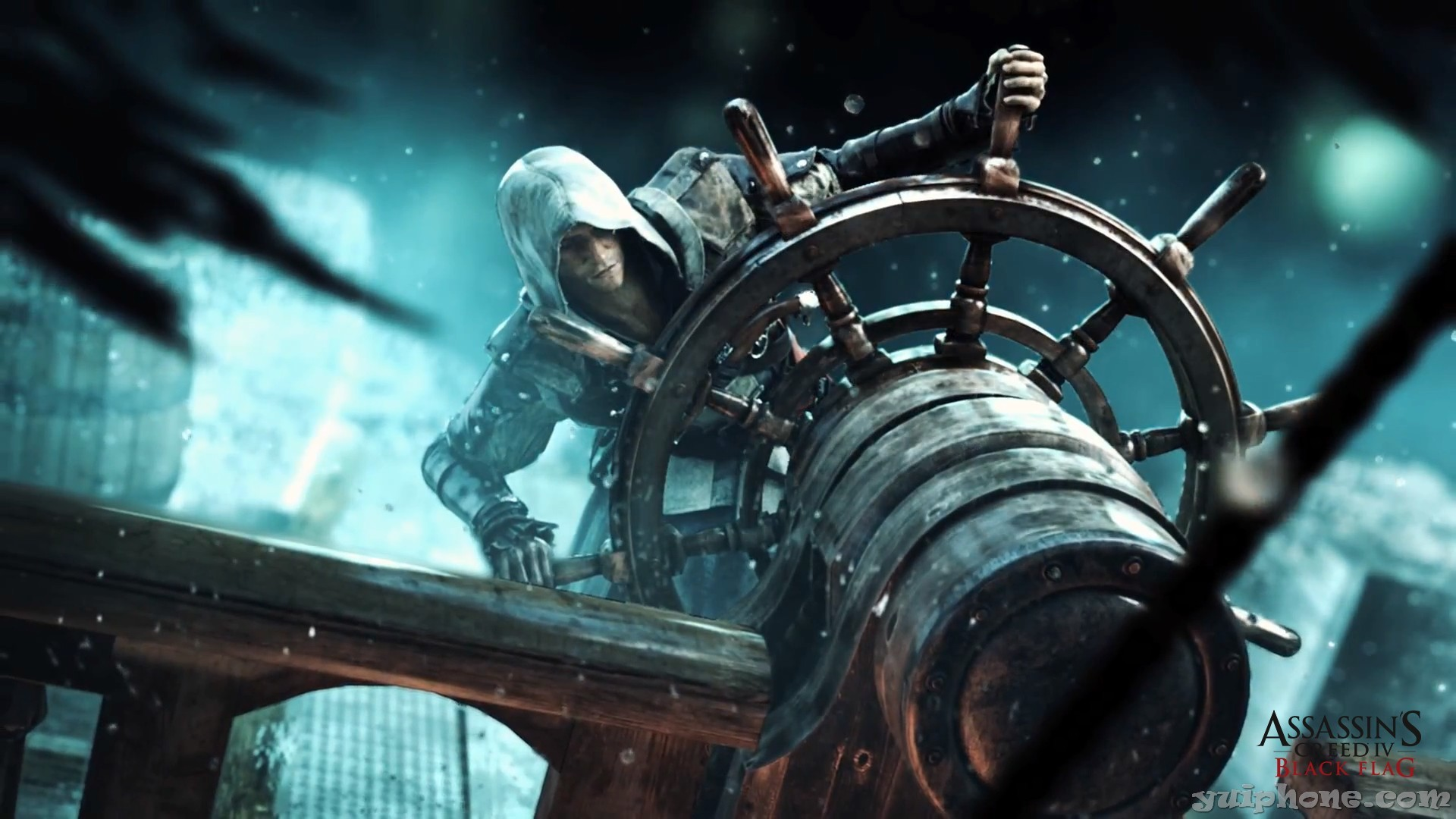 Edward-Kenway-at-the-helm-AC4-Assassins-Creed-Black-Flag .