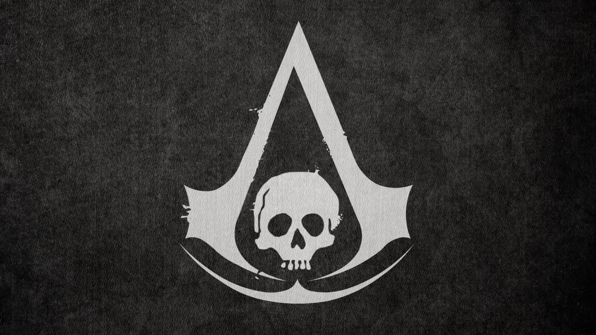 Assassin's Creed Black Flag Wallpaper Logo Wallpaper