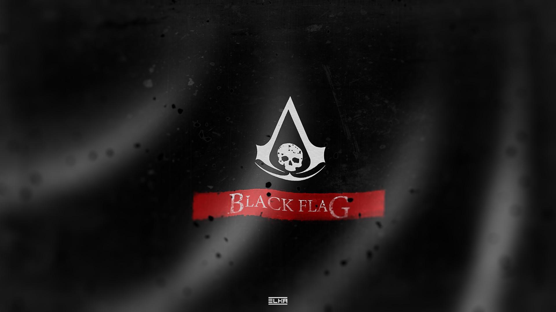 Assassins Creed 4 Black Flag Logo Wallpaper | Game HD Wallpaper