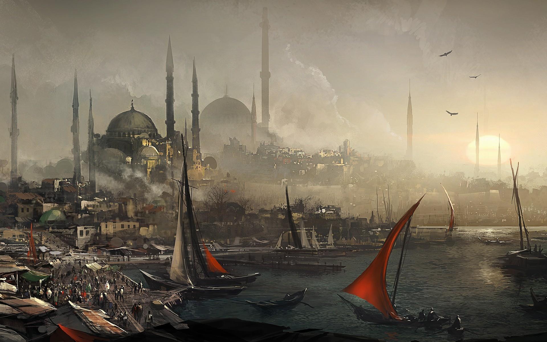 … Assassin's Creed – Revelations HD Wallpaper 1920×1200