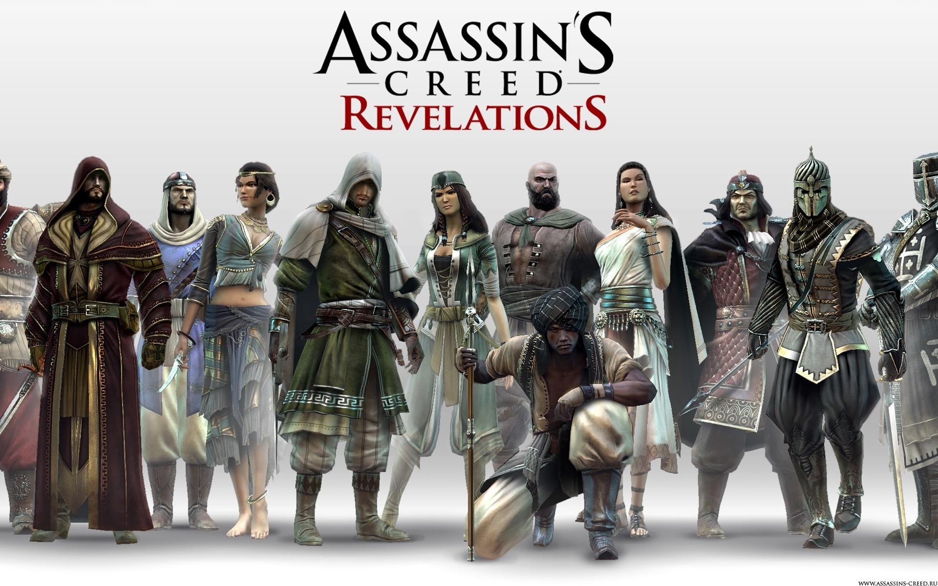assassins creed revelations characters
