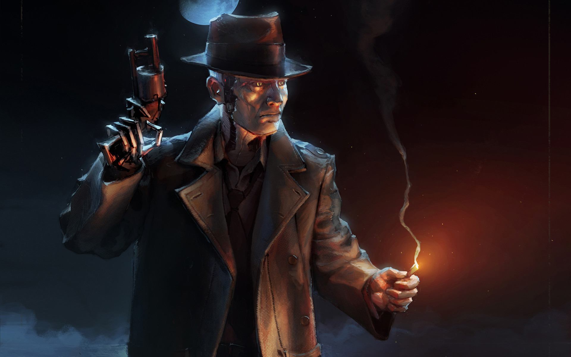Video Game – Fallout 4 Nick Valentine Wallpaper