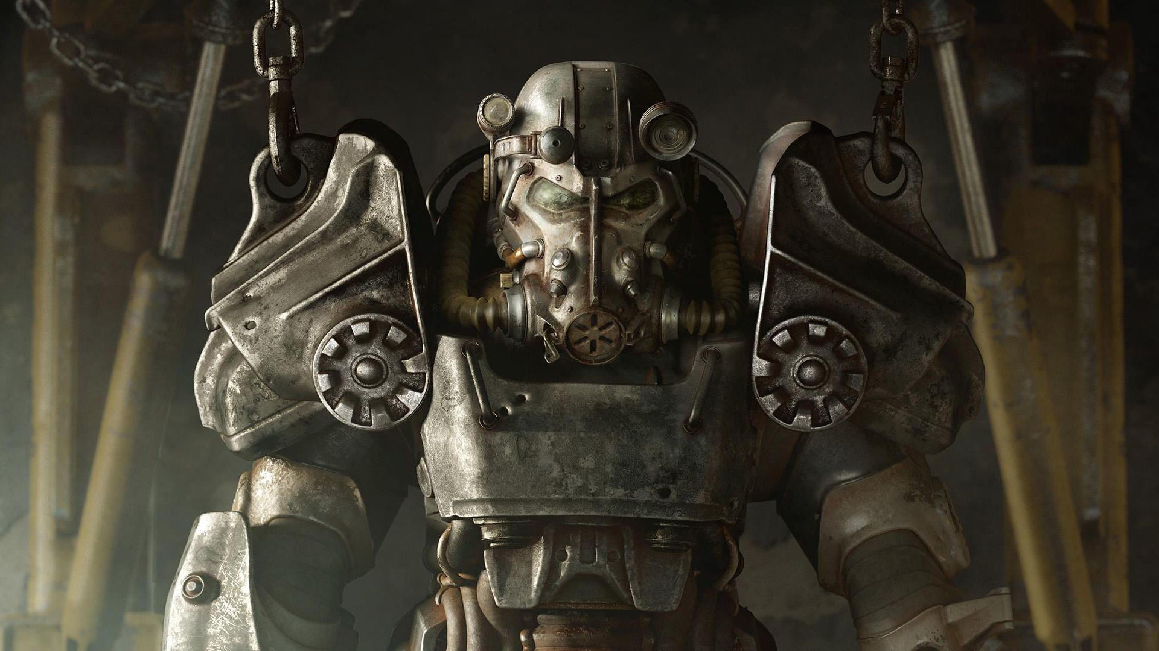 Preview wallpaper fallout 4, bethesda game studios, bethesda softworks  3840×2160