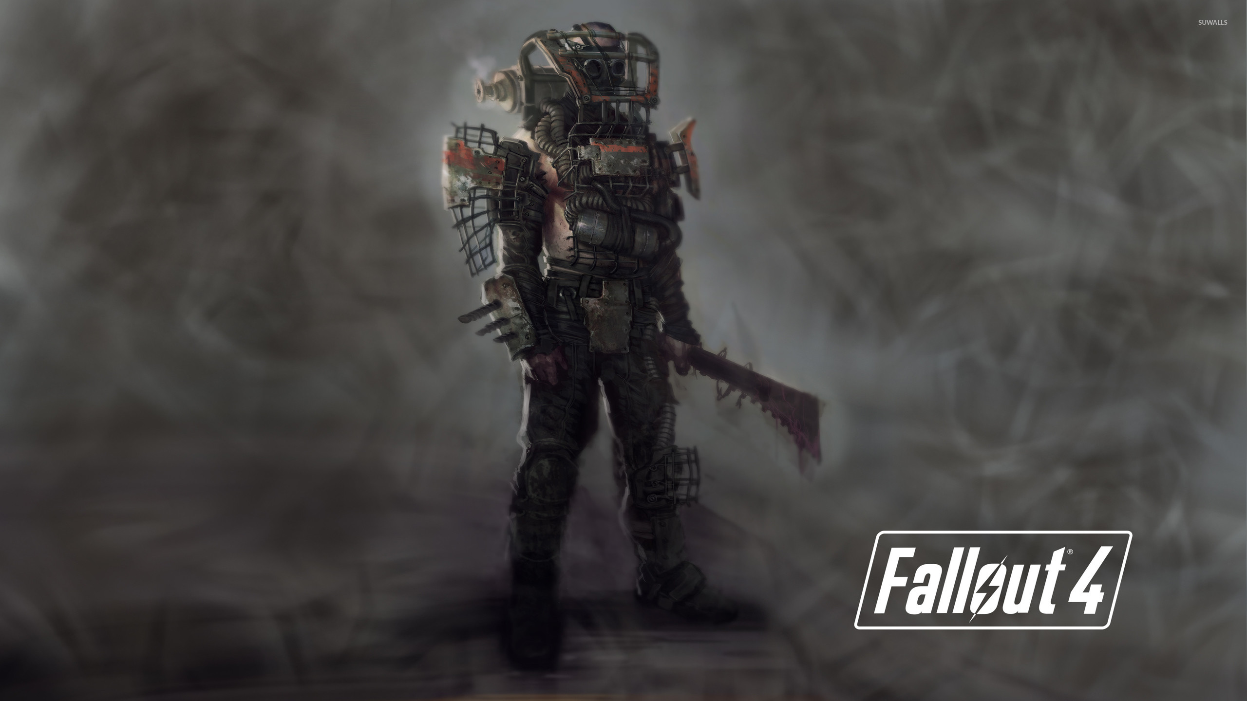 Raider in Fallout 4 wallpaper – Game wallpapers – #50130