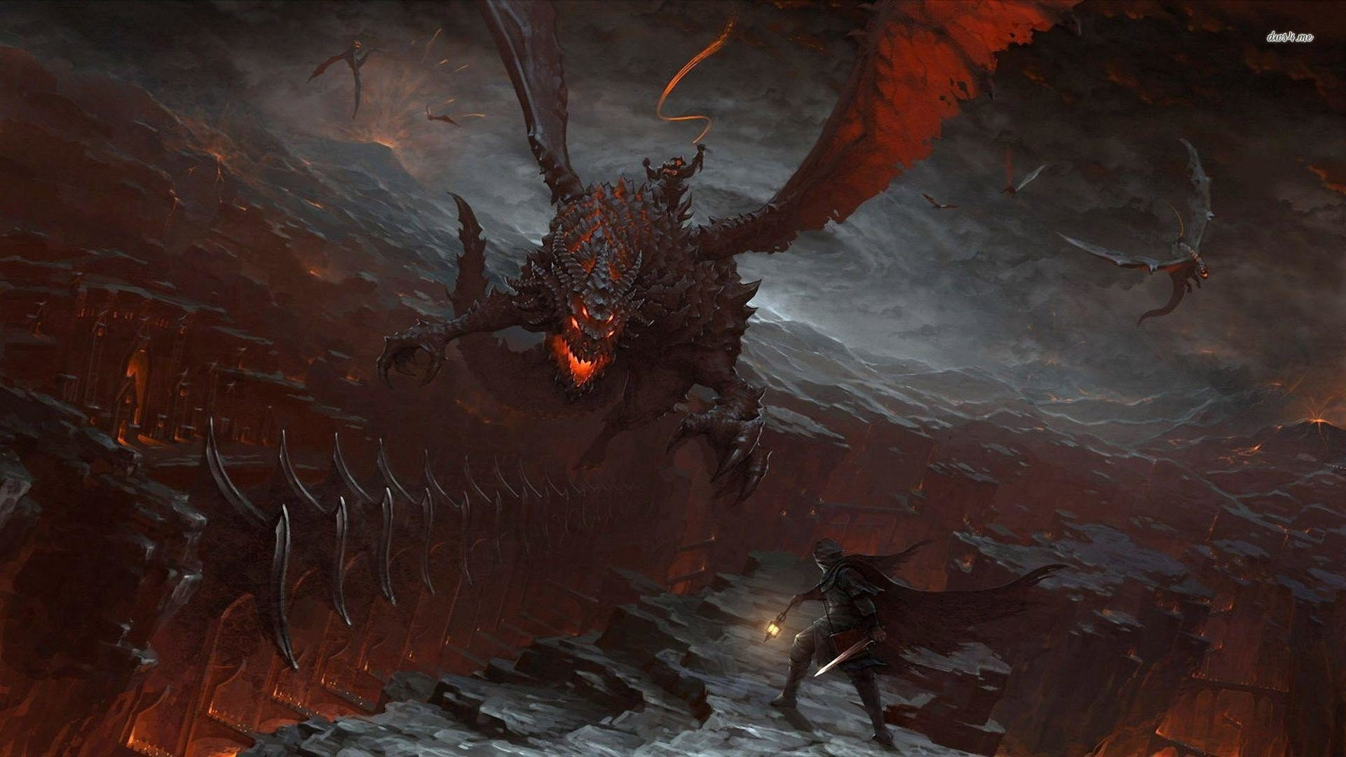 Deathwing – World of Warcraft wallpaper – Game wallpapers – #
