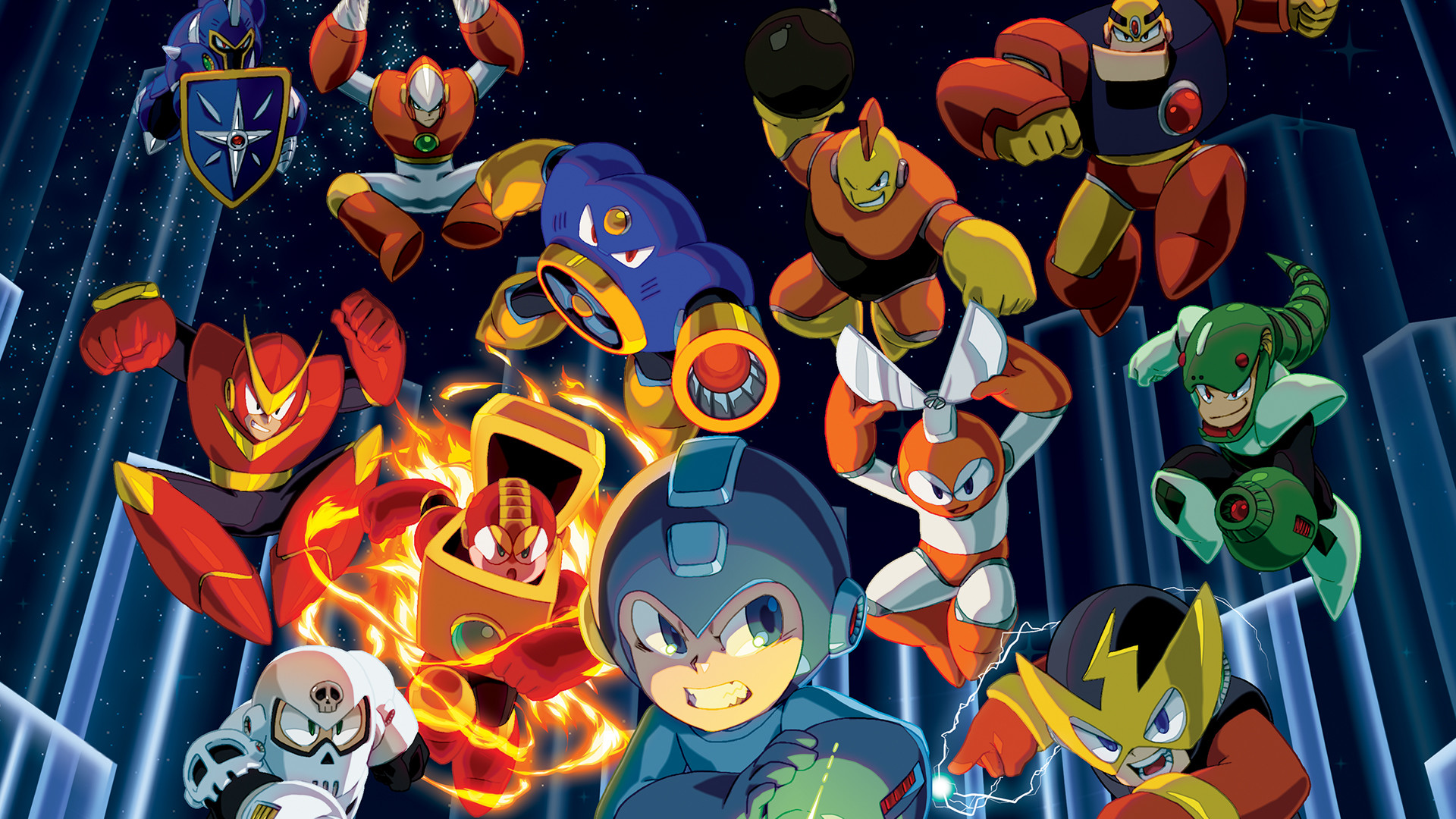 Mega Man Legacy Collection – Wallpaper 1 by seraharcana on DeviantArt