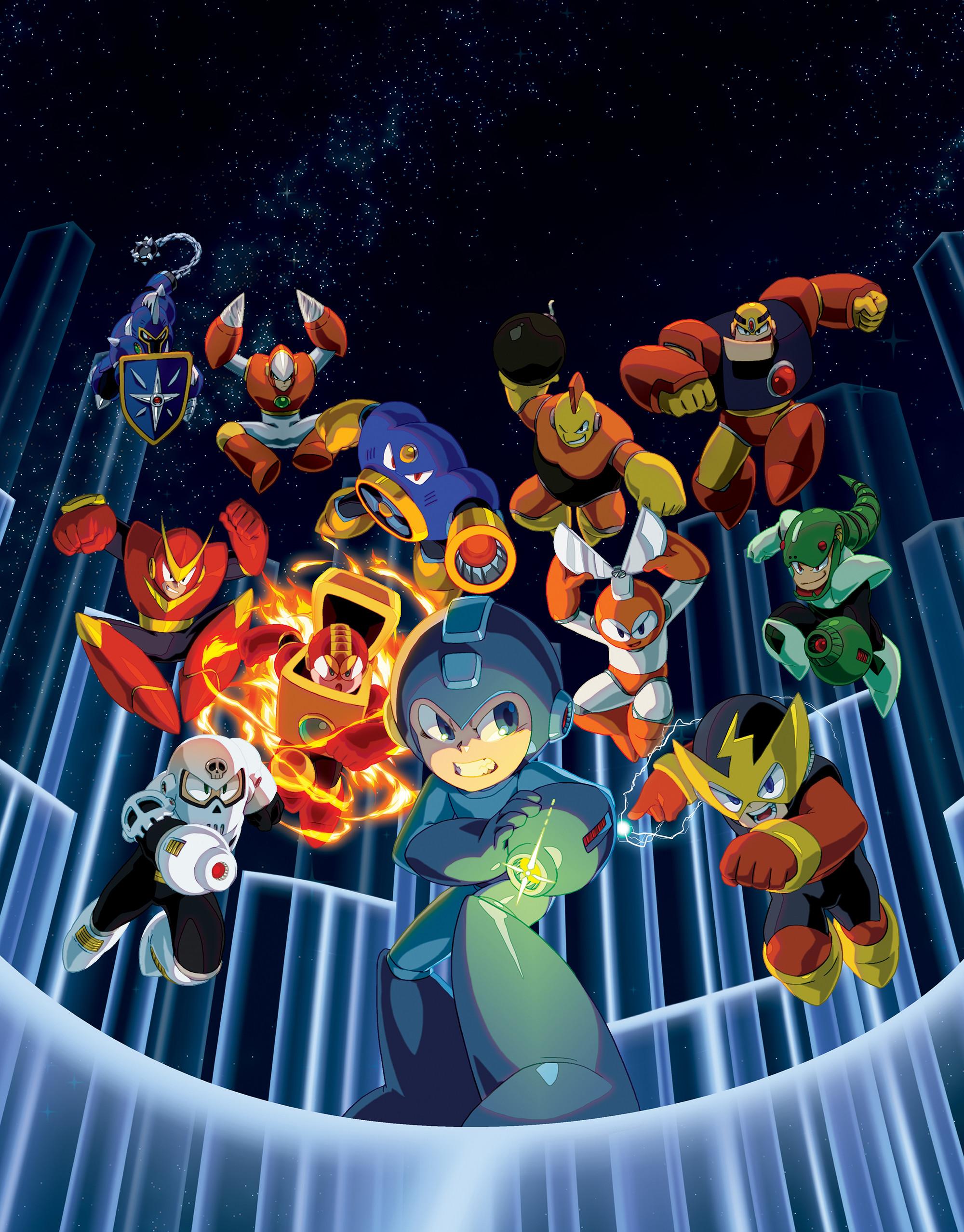 Mega Man Legacy Collection artwork