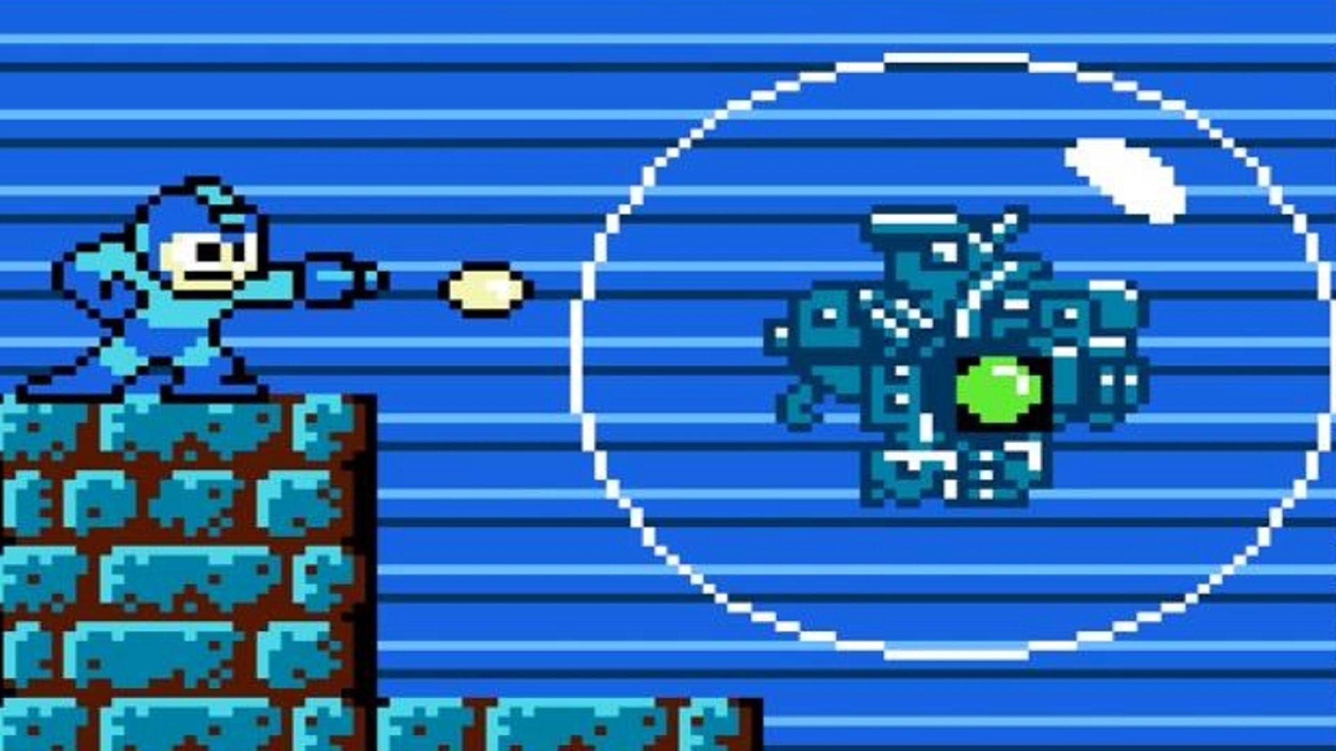 Mega Man: CWU-01P (Bubble Robots) Boss Fight (1080p 60fps)