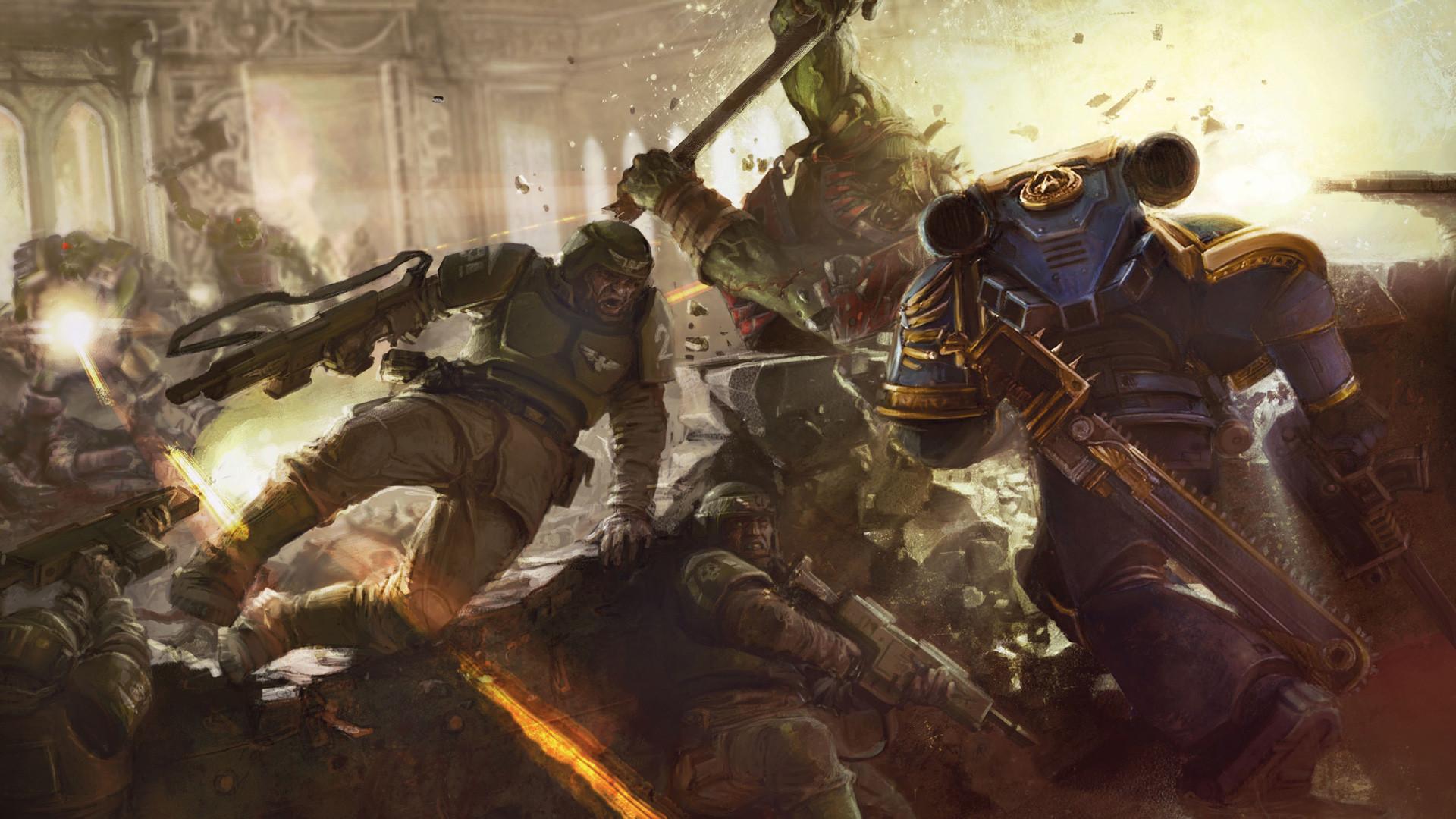Warhammer 40K Res: HD / Size:605kb. Views: 3471