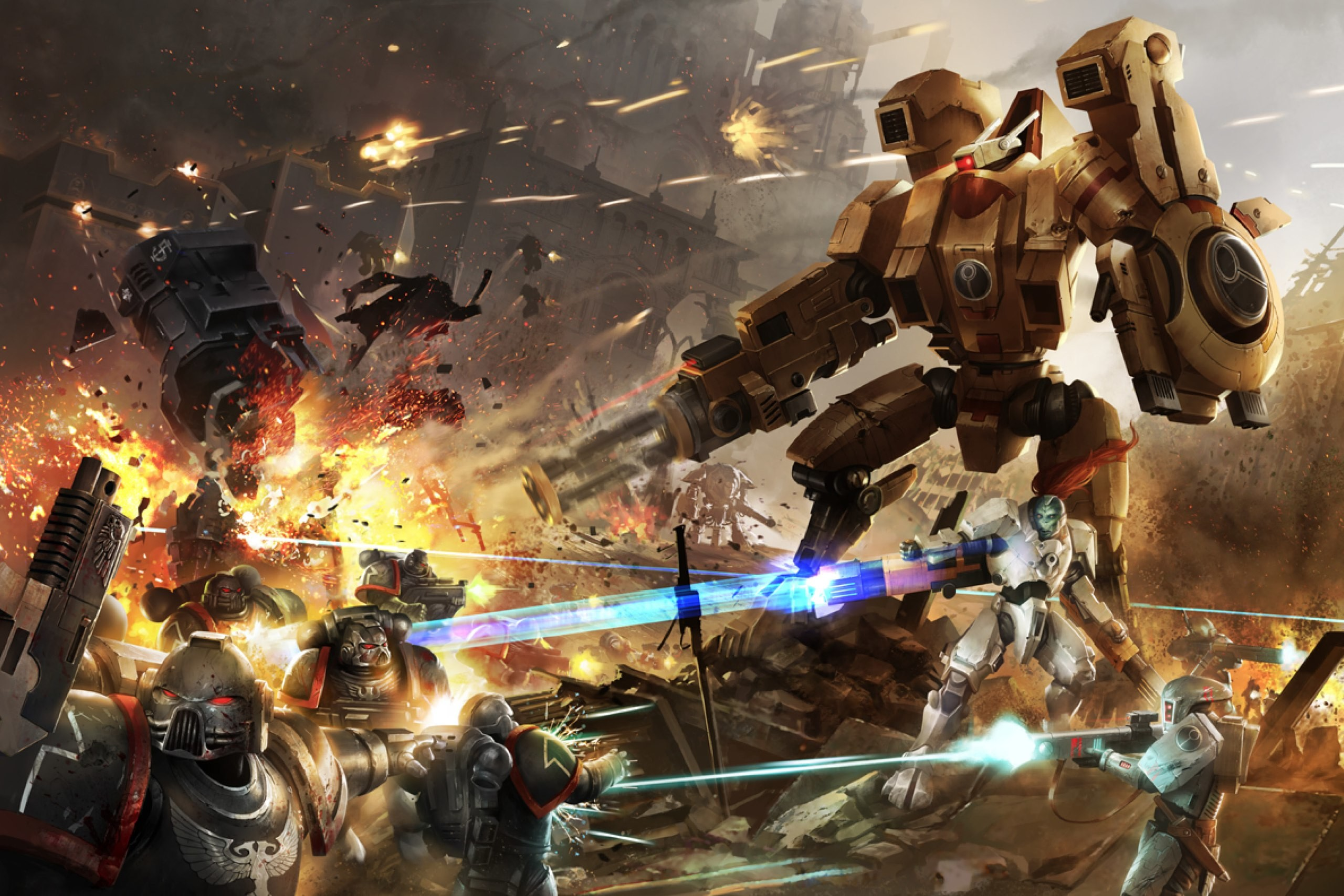 View SameGoogleiqdbSauceNAO Warhammer-40000-Tau-Empire-Astra (.
