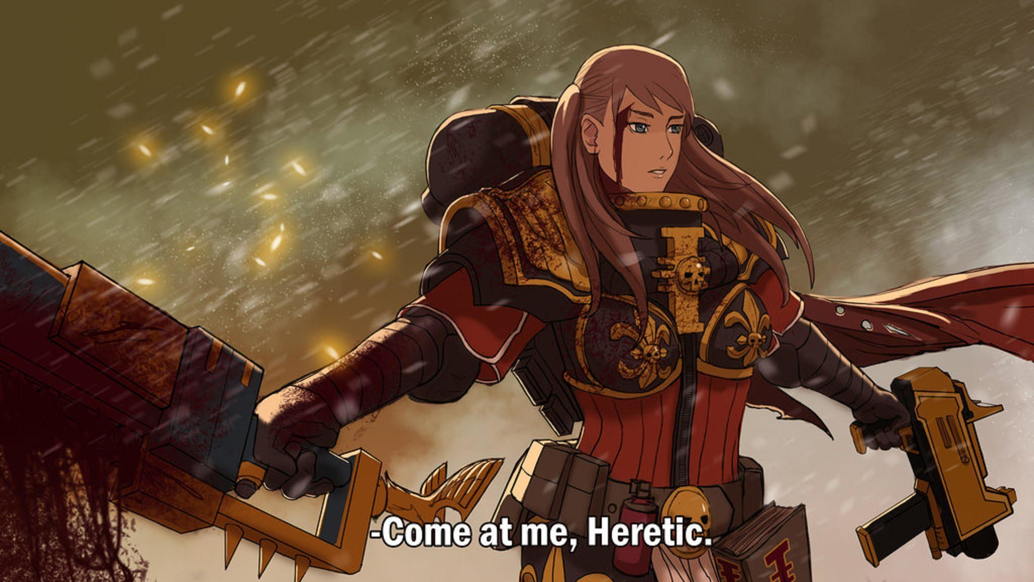 Come At Me, Heretic