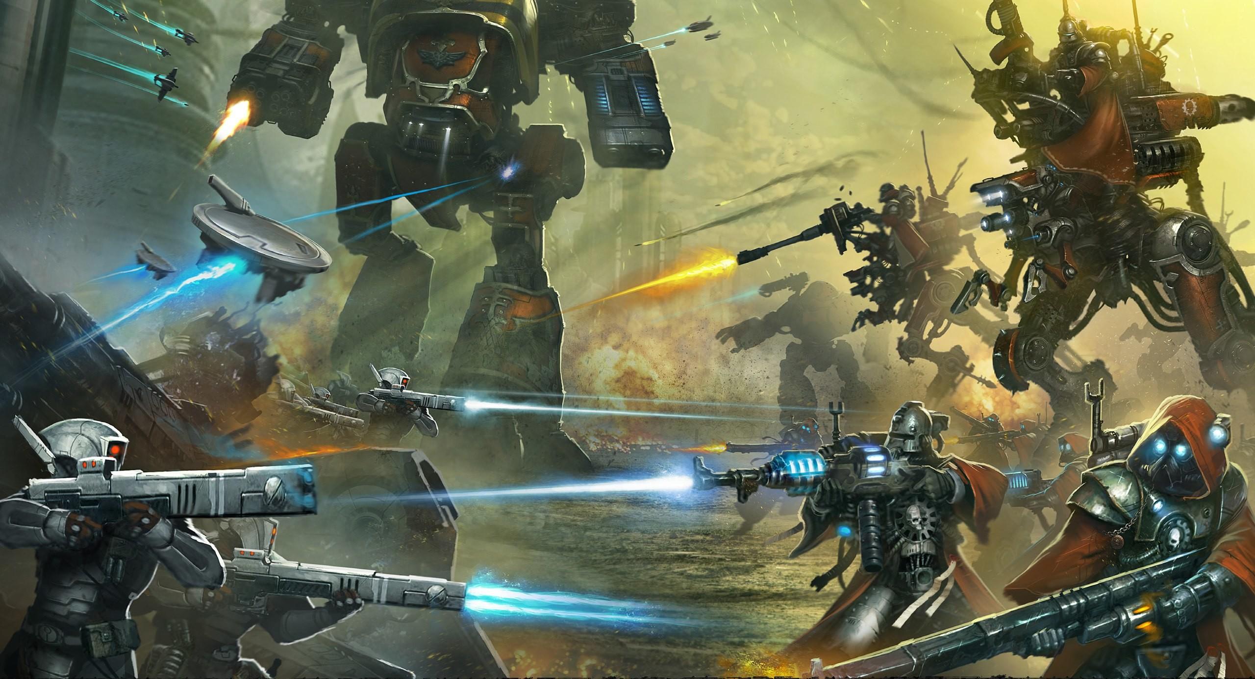 Add media Report RSS Warhammer 40000 Tau Empire Astra Militarum (view  original)