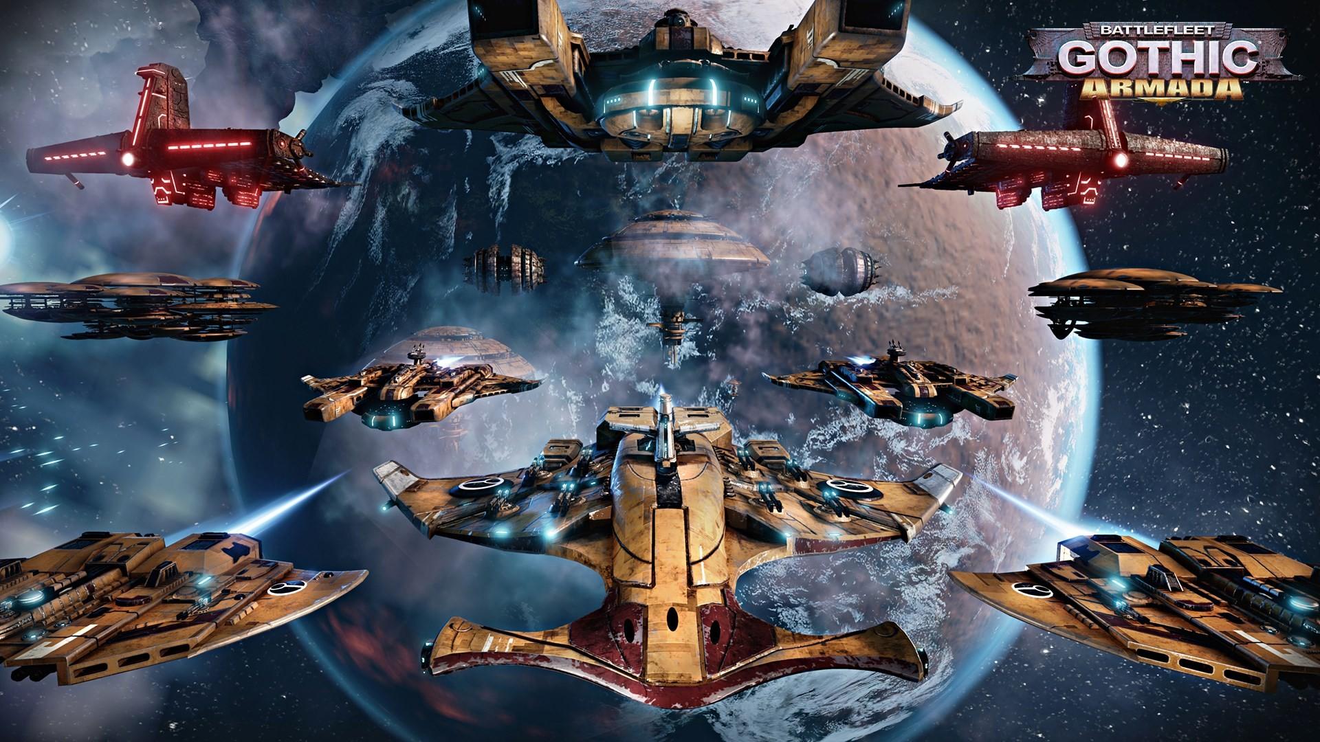 Battlefleet Gothic: Armada brings the Tau Empire to open beta tomorrow | PC  Gamer