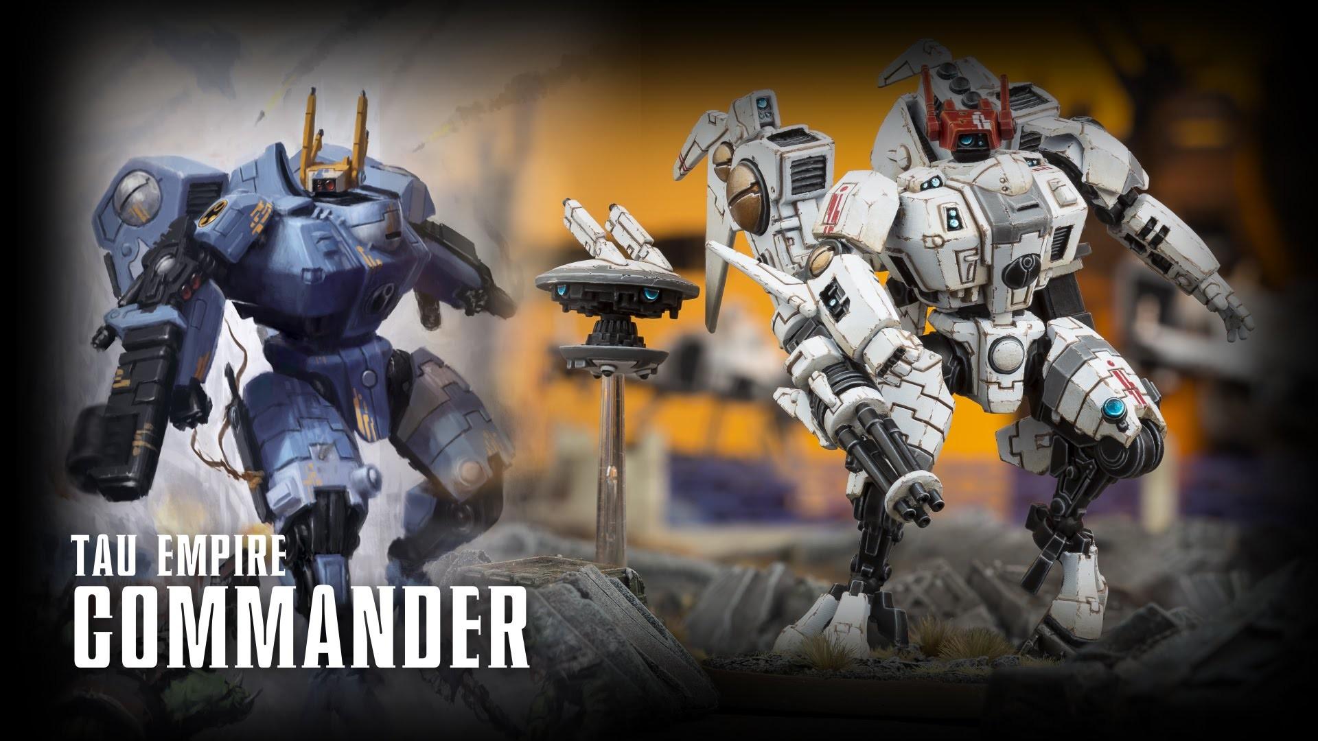 Warhammer 40,000: Tau Empire – Commander, XV8's & Codex
