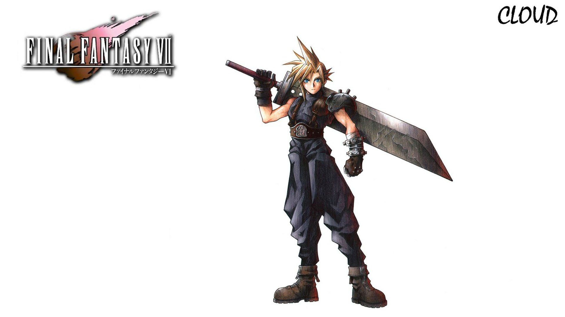 Final Fantasy VII video games Cloud Strife wallpaper