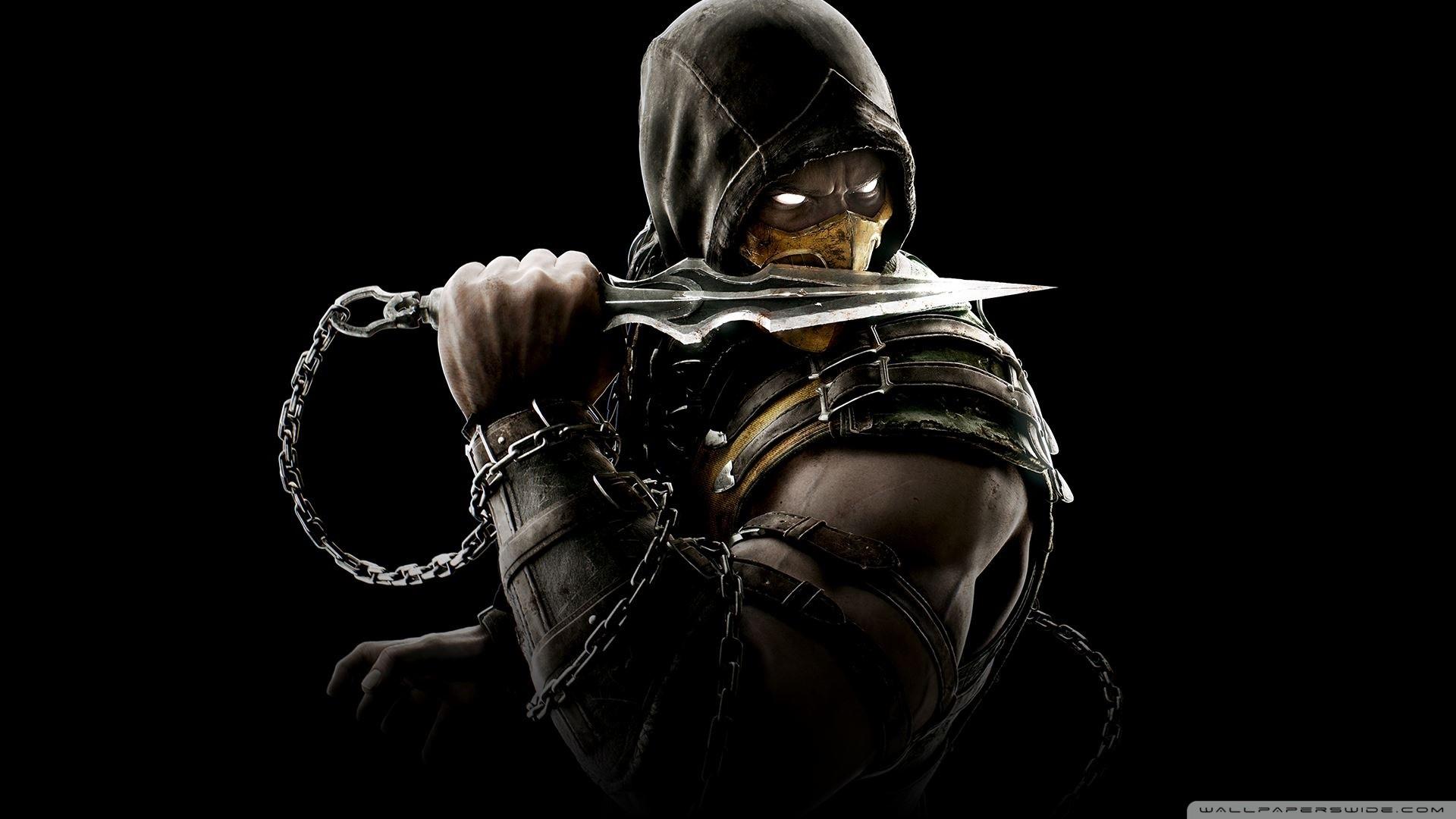Mortal Kombat X Scorpion HD Wide Wallpaper for Widescreen
