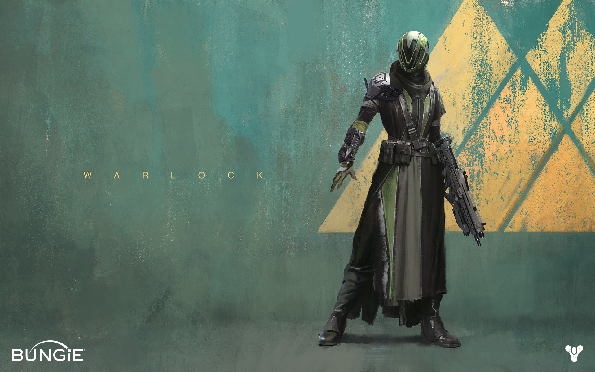 """The Warlock is a Guardian class in Destiny that specializes in combining  """"magic"""" powers granted."""