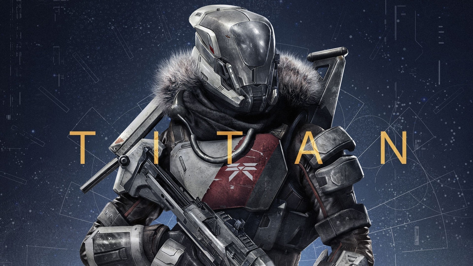 Titan class from the game destiny