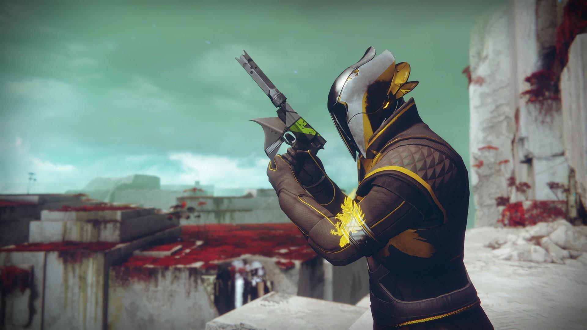 Awesome Destiny 2 Warlock Guardian wallpaper