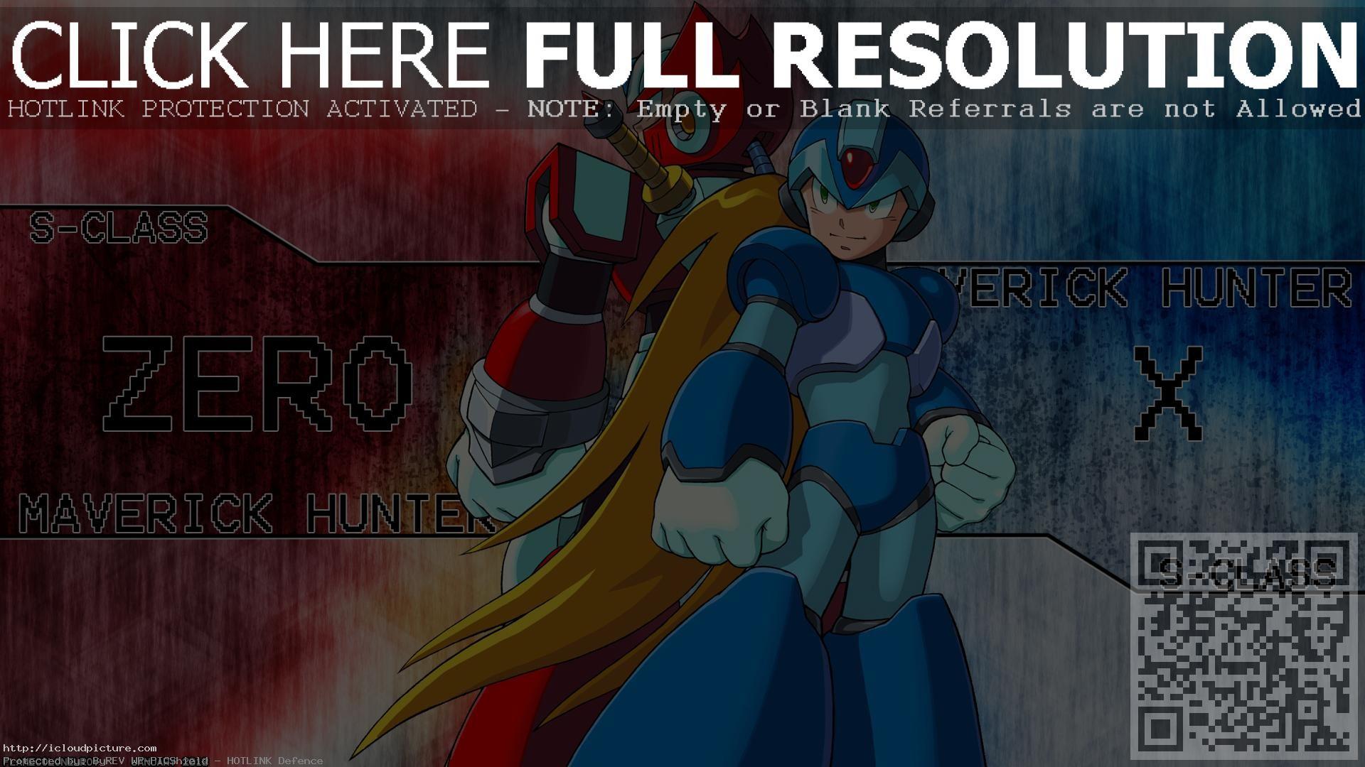 Megaman X Zero Wallpapers Iphone