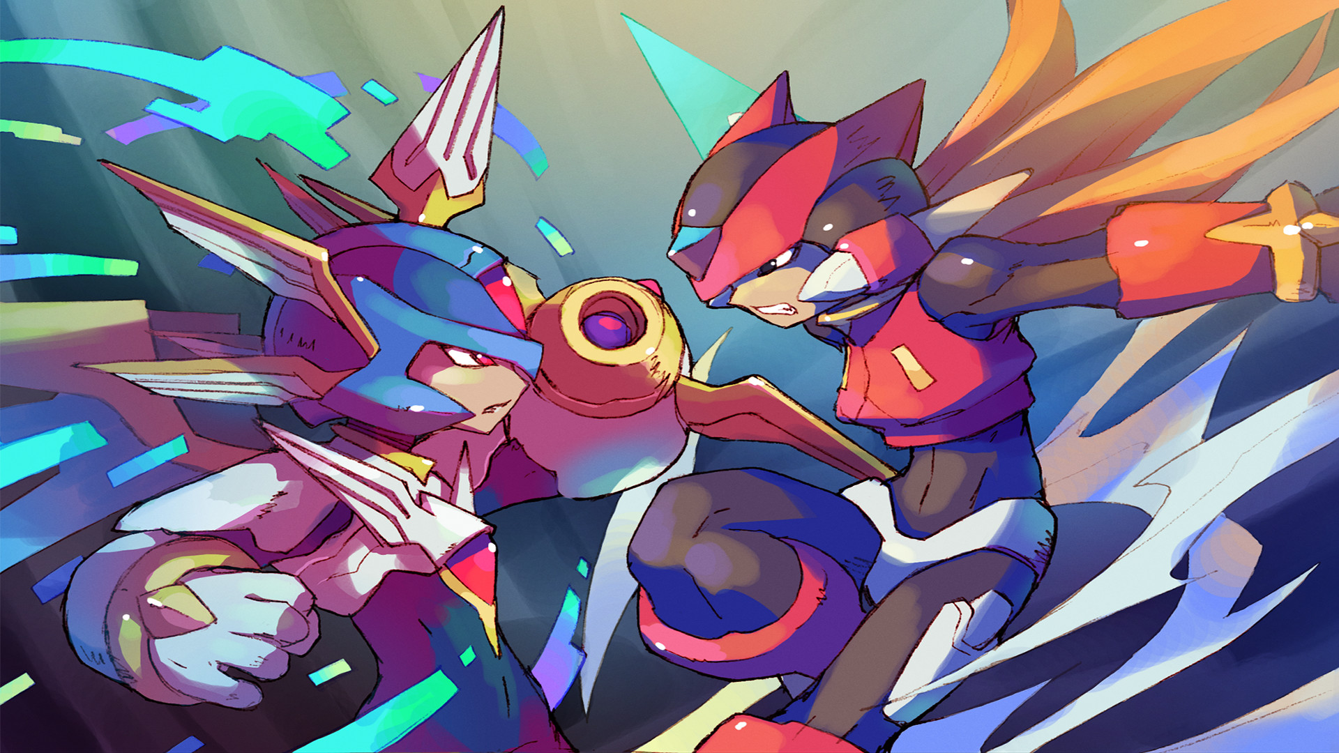 Copy X Mega Man Zero Wallpapers by Dana McCreary