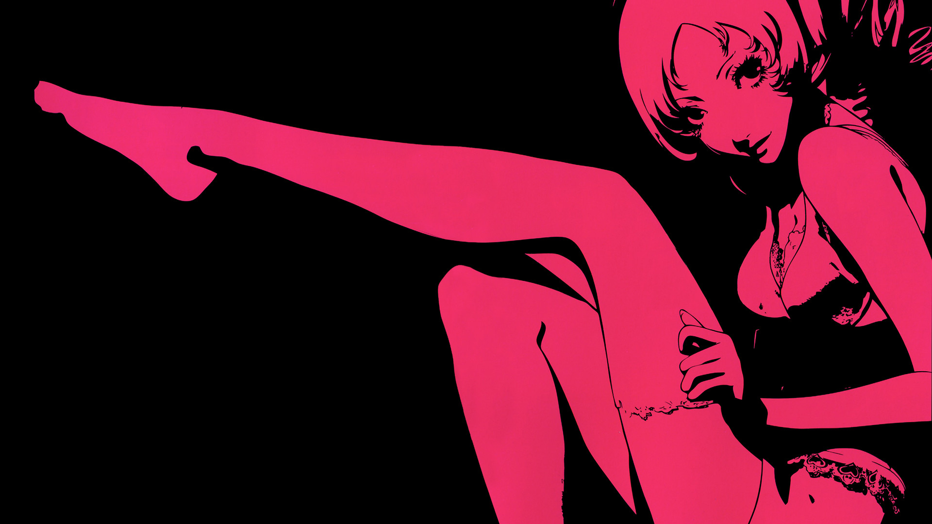 video games pink monochrome catherine game consoles HD Wallpaper
