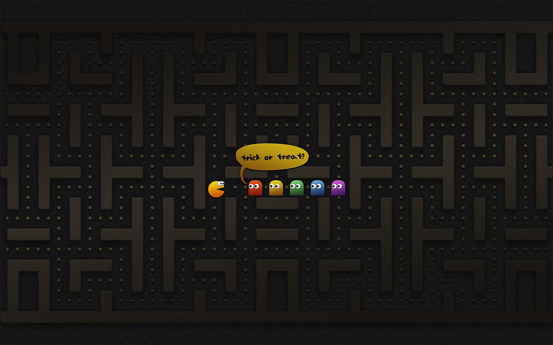 Video Game Pac-Man Wallpaper
