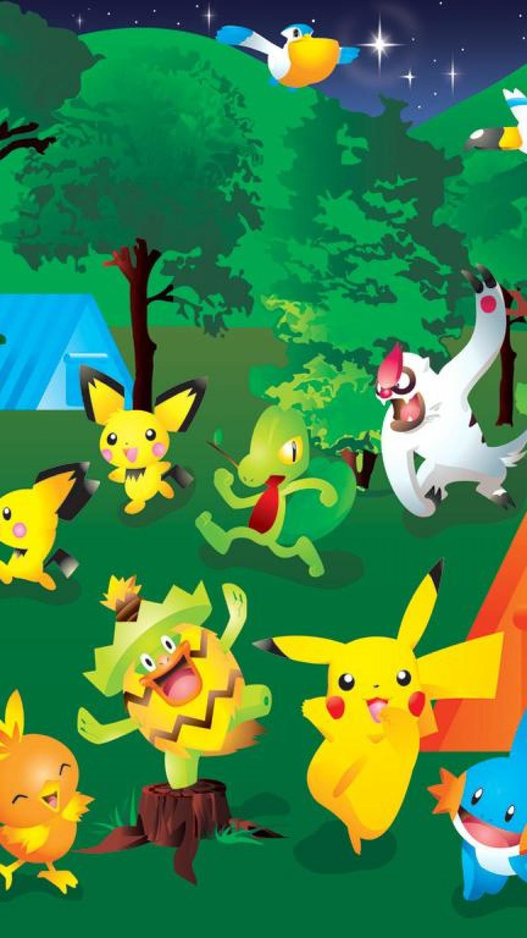 Video Game Free Pokemon iPhone Wallpapers.