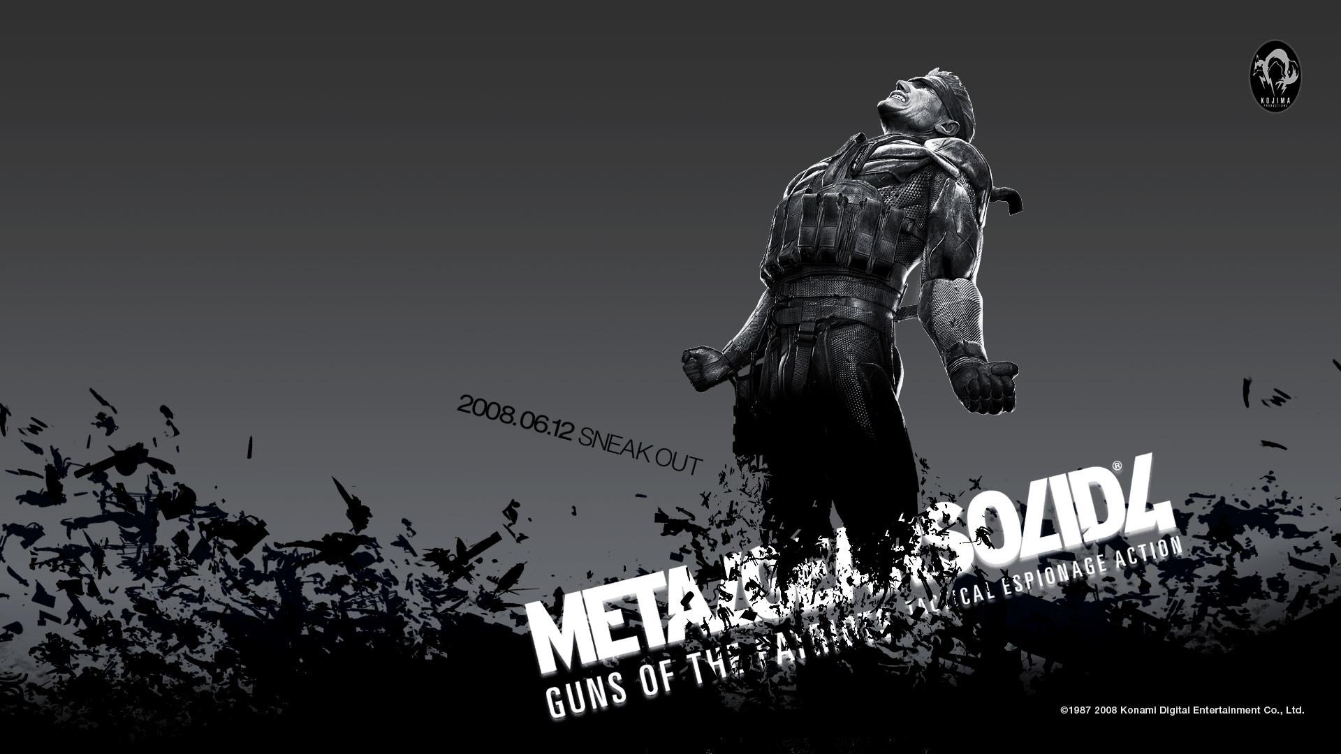 Metal Gear Solid 4 Wallpapers