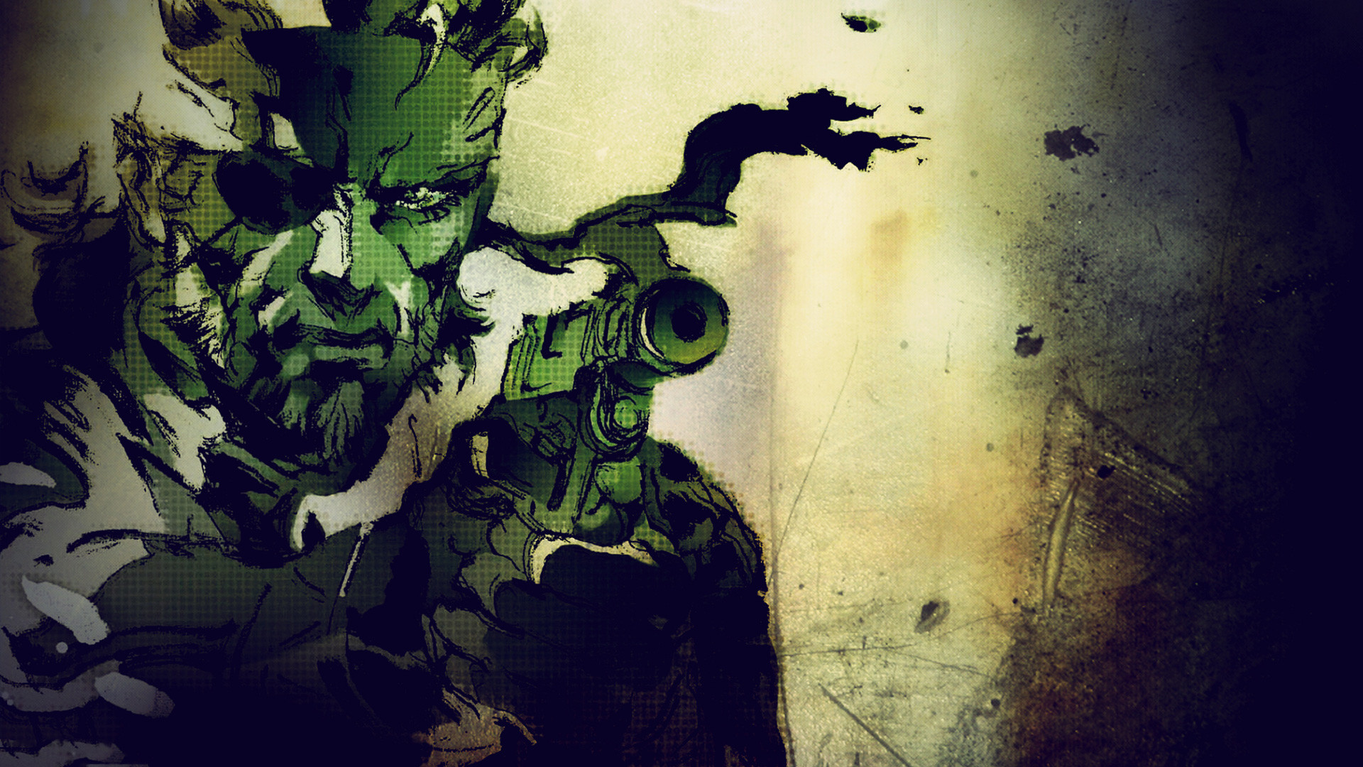 Video Game – Metal Gear Solid Snake Metal Gear Solid Wallpaper