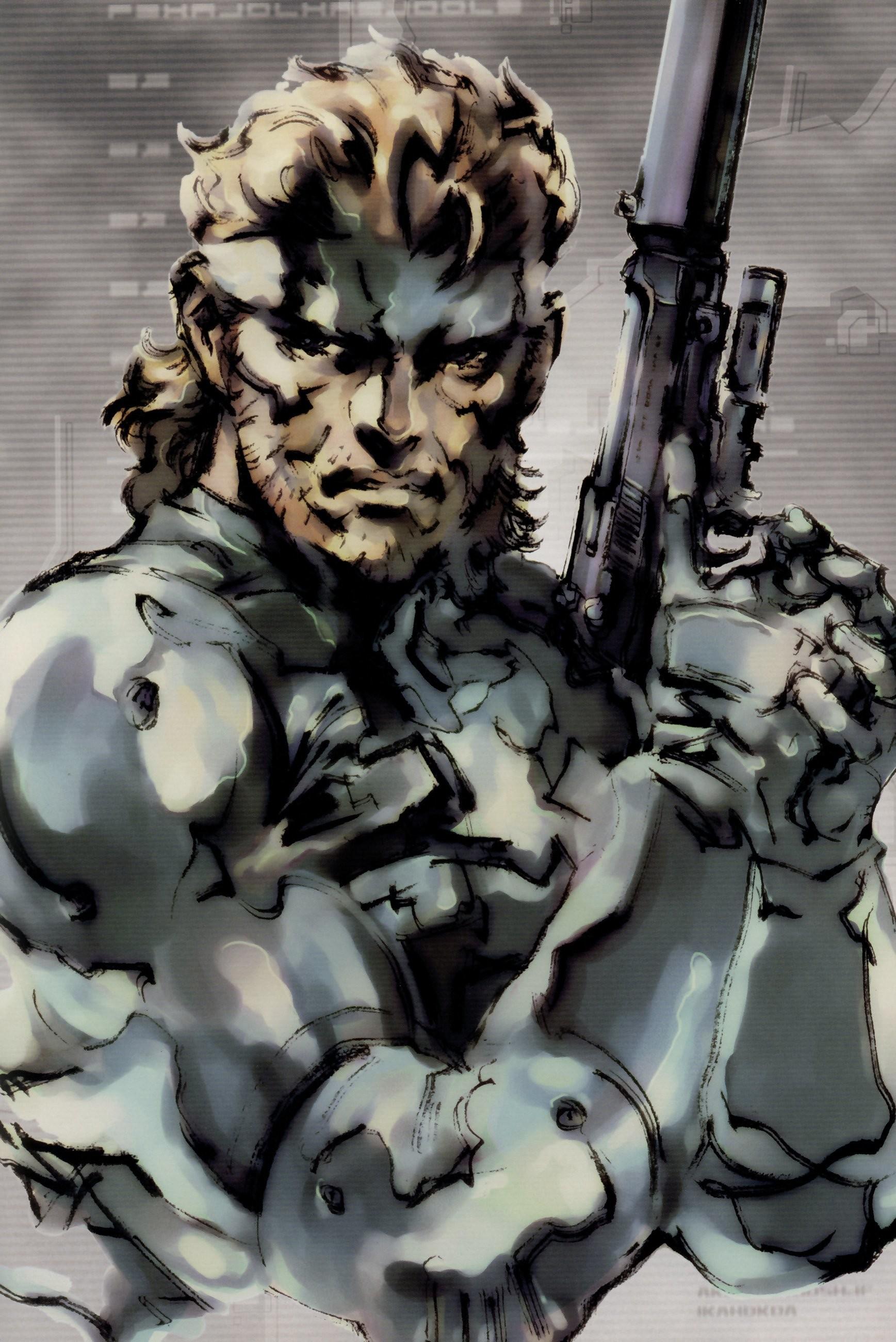 Metal Gear Solid Solid Snake wallpaper     307322   WallpaperUP