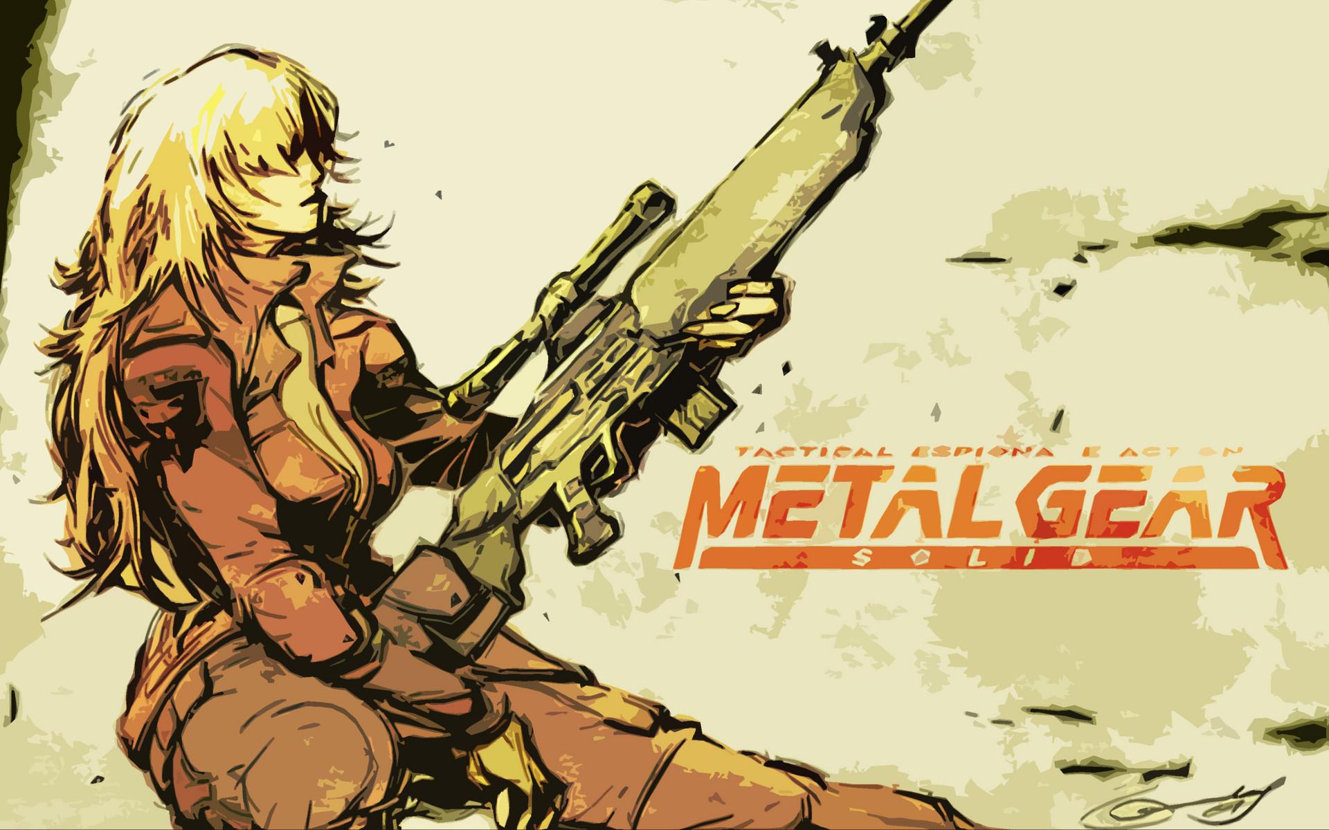 Metal Gear Solid sniper wolf wallpaper     73498   WallpaperUP