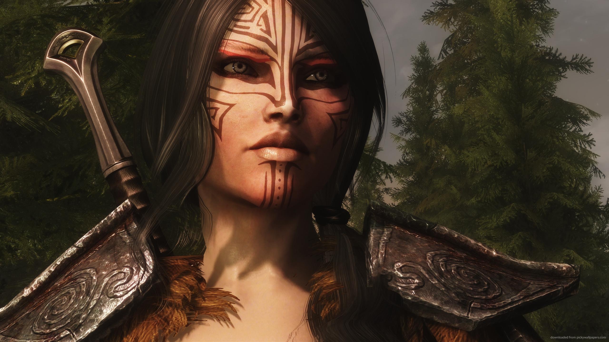 Skyrim Female Here for 2560×1440