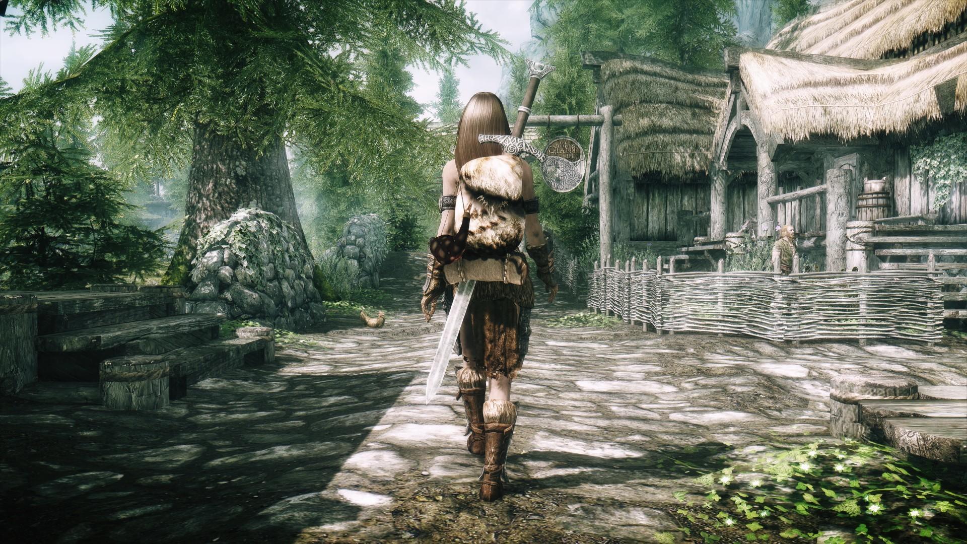 The Elder Scrolls V: Skyrim Artwork desktop PC and Mac wallpaper