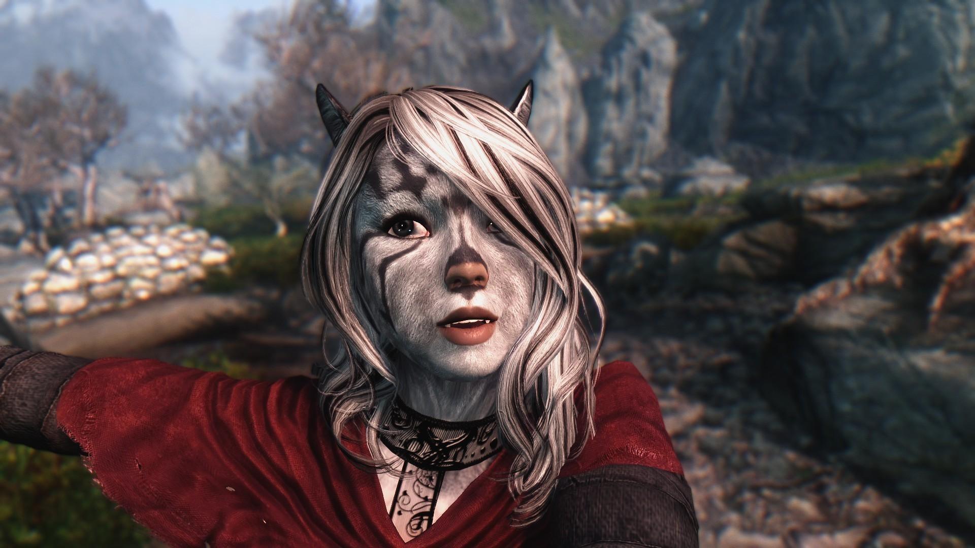 The Elder Scrolls V: Skyrim fox girl