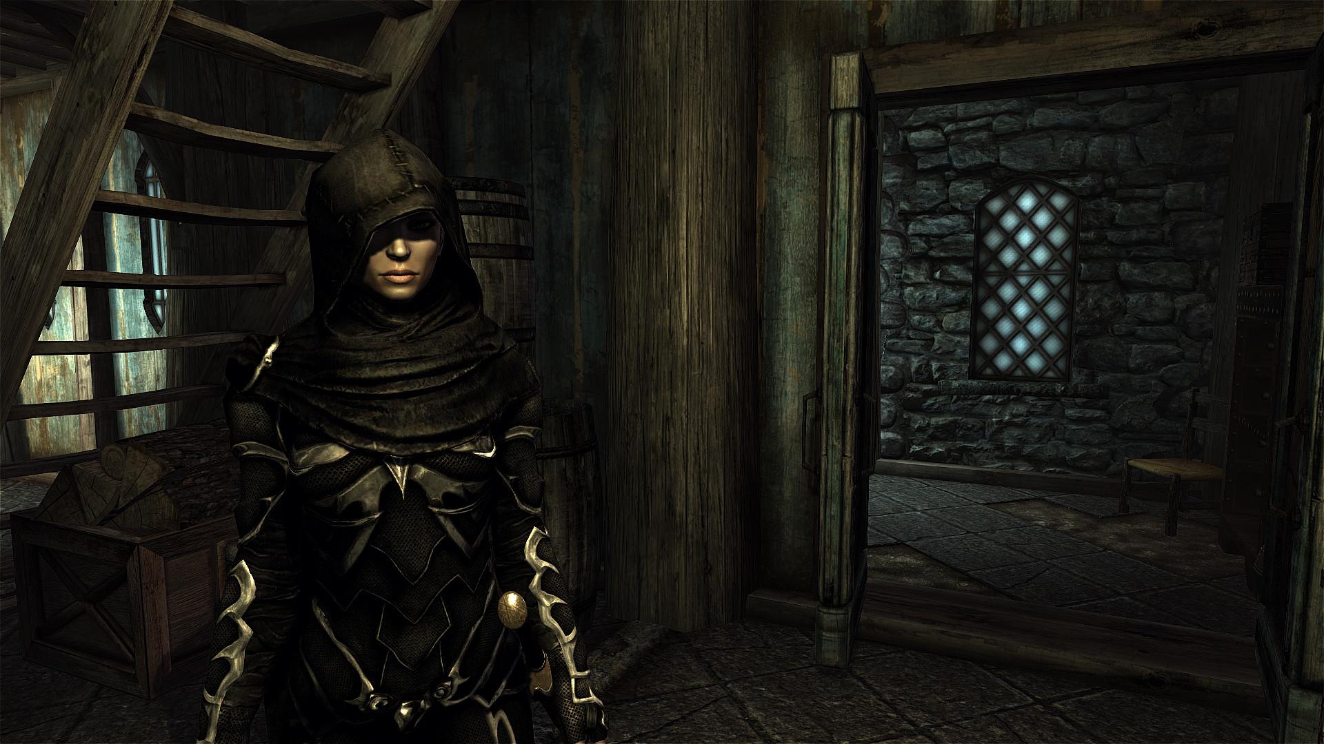 The Elder Scrolls Skyrim Review Screenshot 2 Female Assassin
