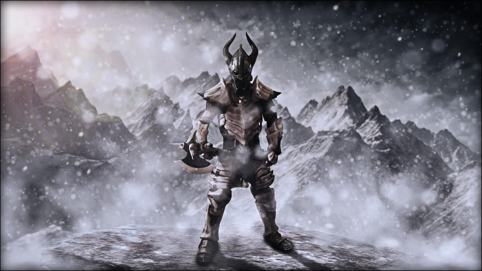 Skyrim Dragon Armor. 1024×768 Wallpaper darksiders …