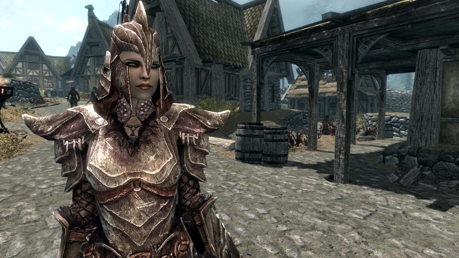 Skyrim – Female Fashion Show – Orcish Armor