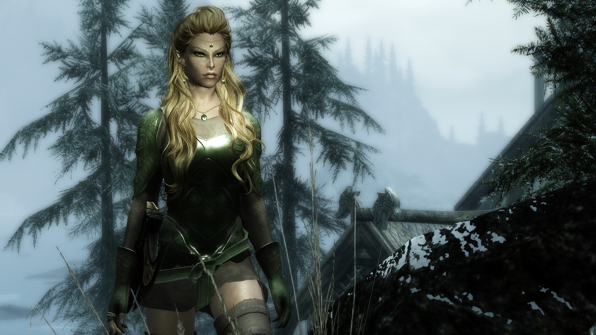 Ashara Elven archer armour revisited at Skyrim Nexus – mods and community